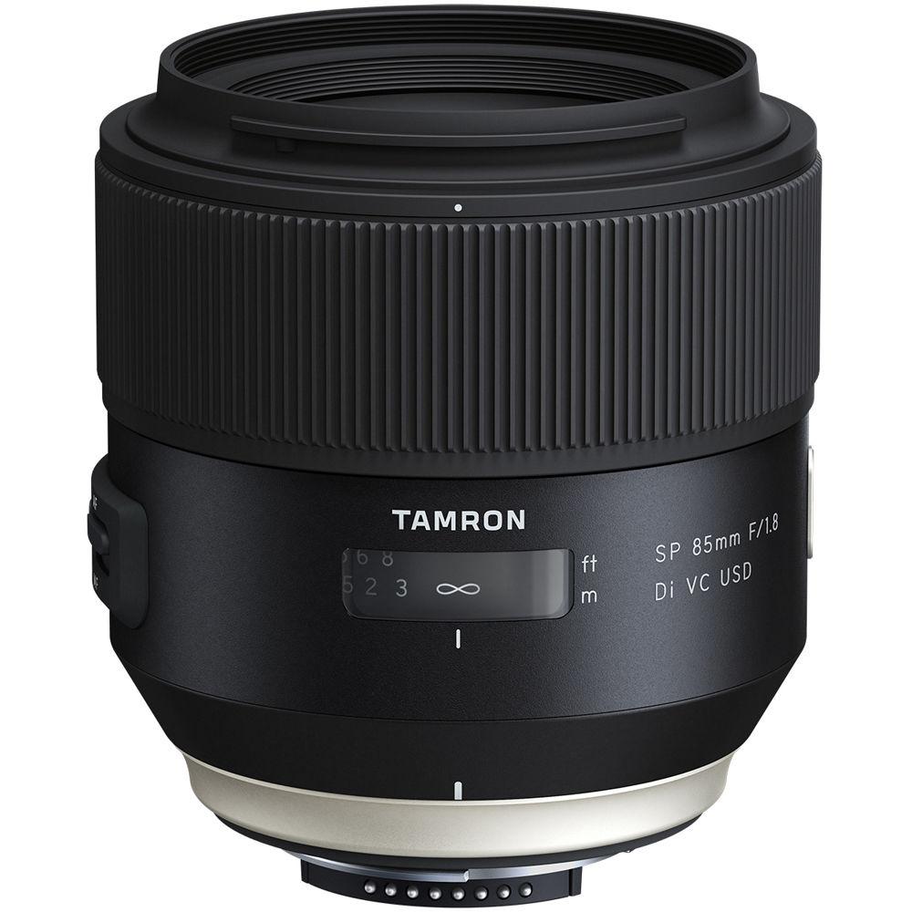 Tamron 85mm f/1.8 SP Di VC USD Lens for  Nikon F