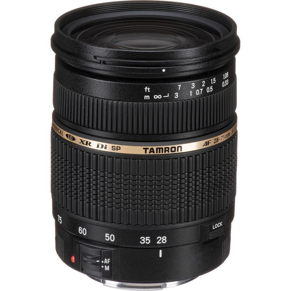 Used Tamron 28-75mm F2.8 XR Di AF Macro Lens for Canon EF Mount
