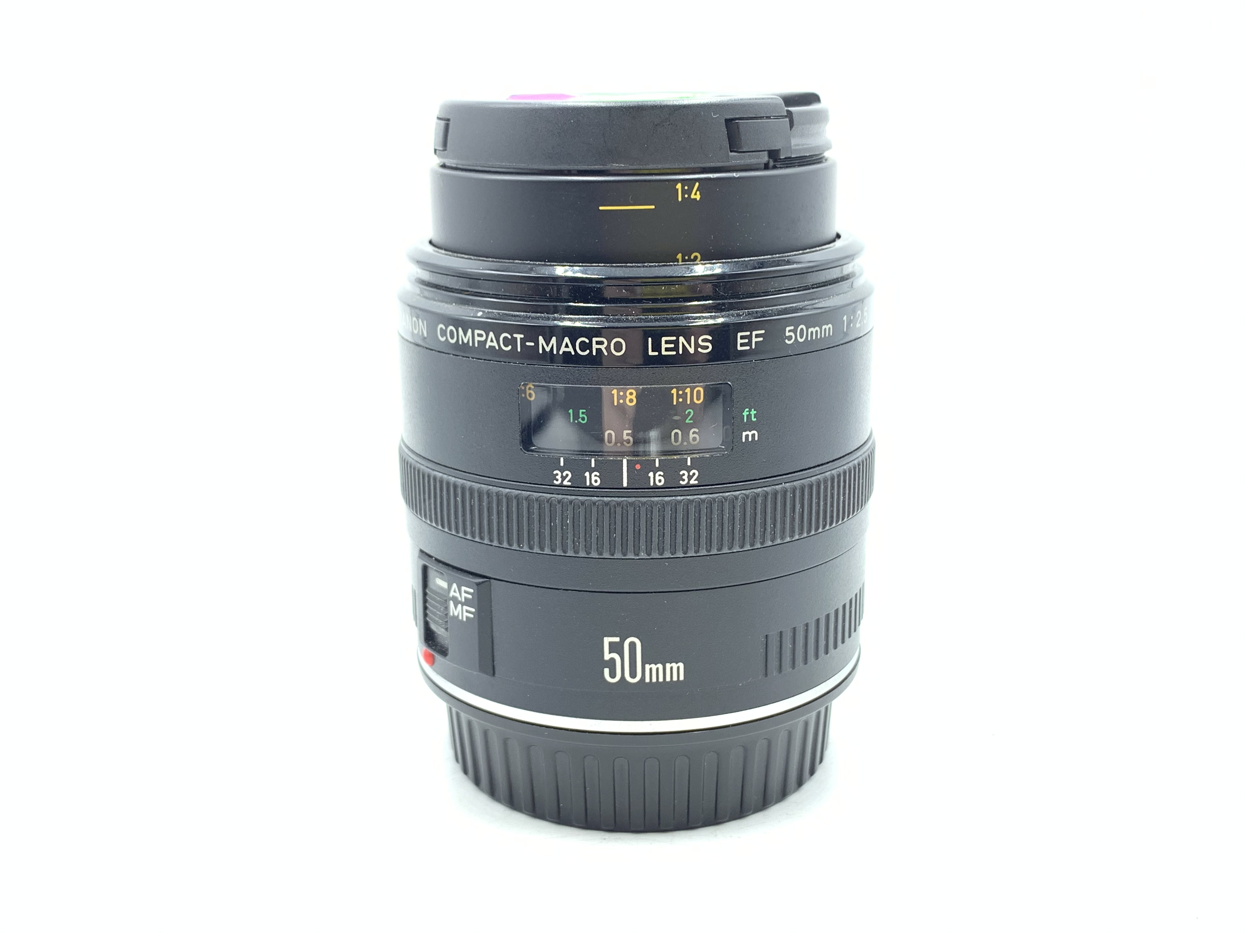 Used Canon 50mm F2.5 EF Macro Lens