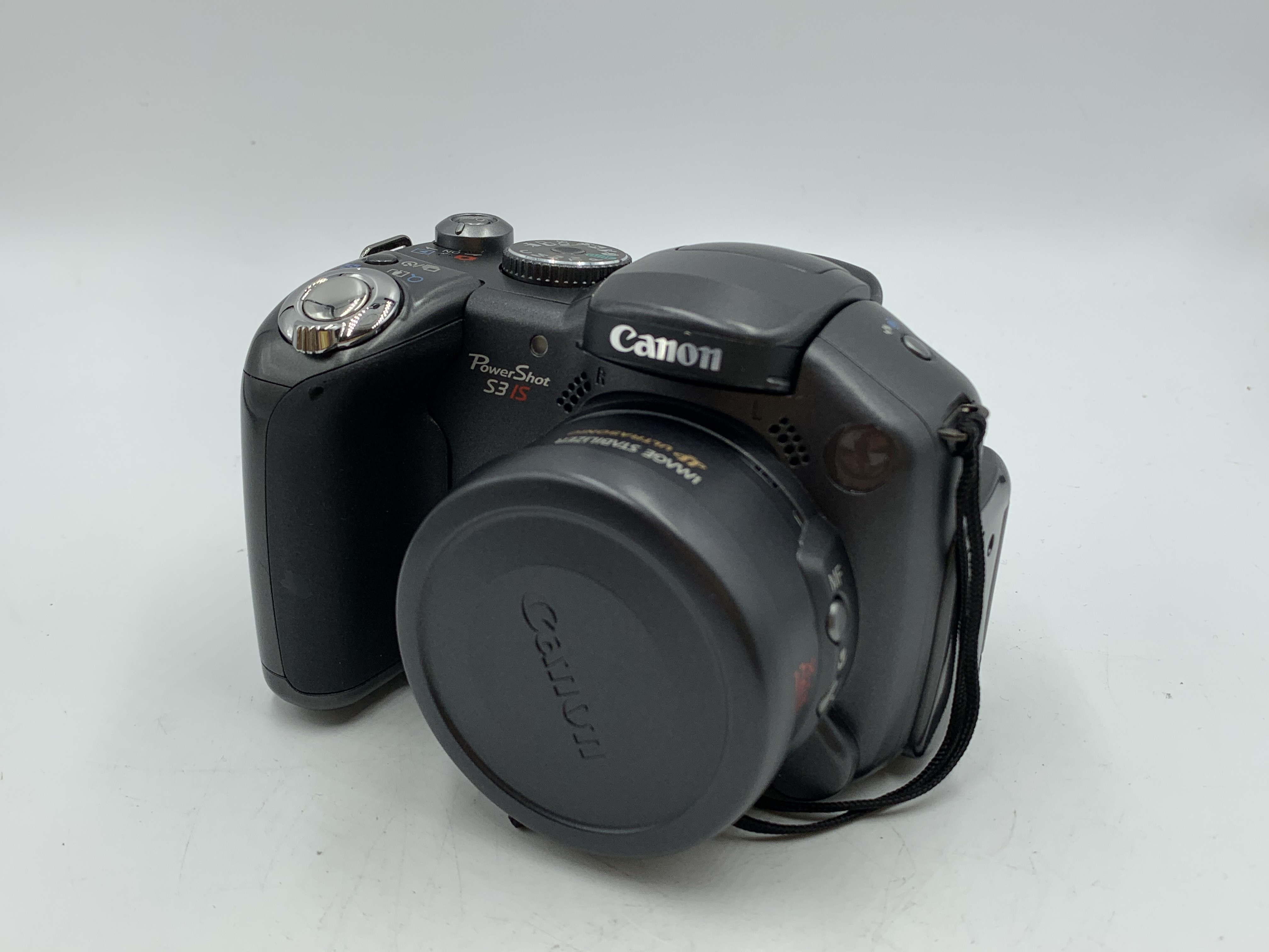 Used Canon S3 IS Digital Point and Shoot