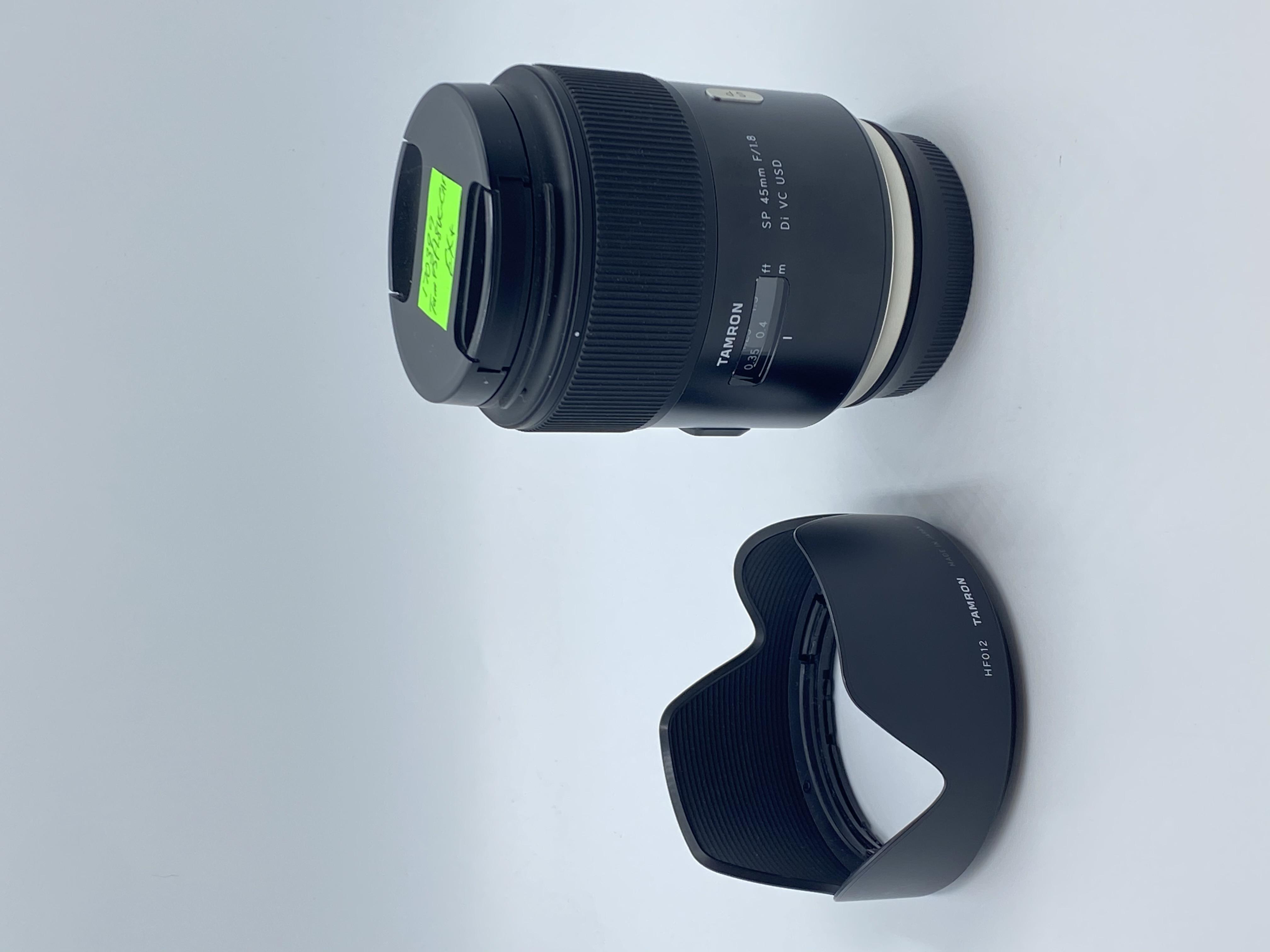 Tamron SP 45mm f/1.8 Di VC USD Lens (Canon)