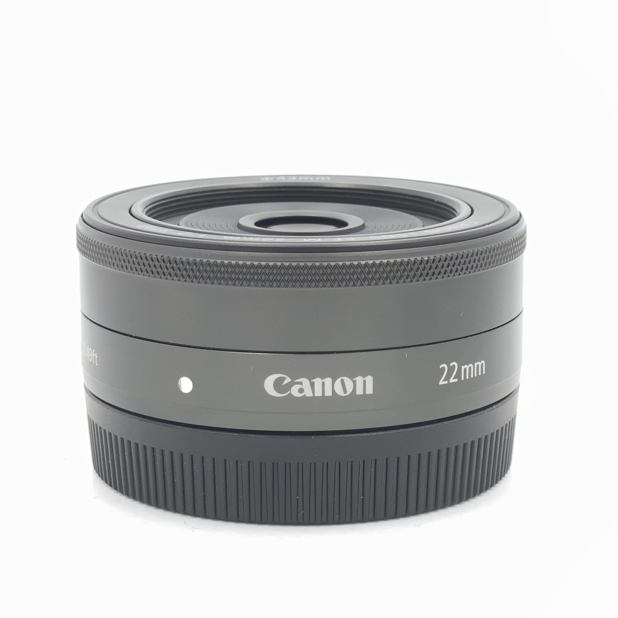 Used Canon 22mm F2 EF-M STM Prime Lens