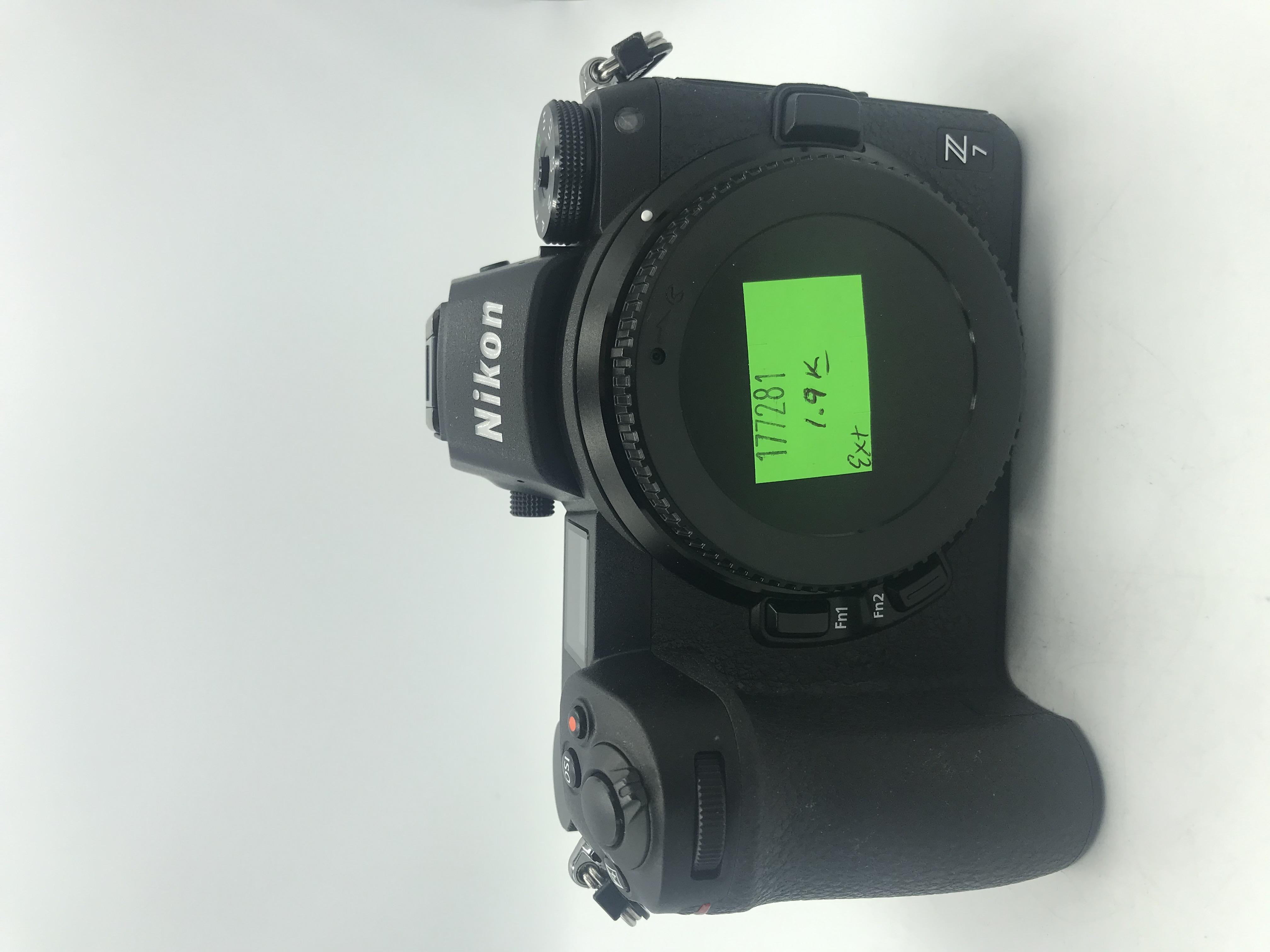 USED Nikon Z7 FX-format Mirrorless Camera Body
