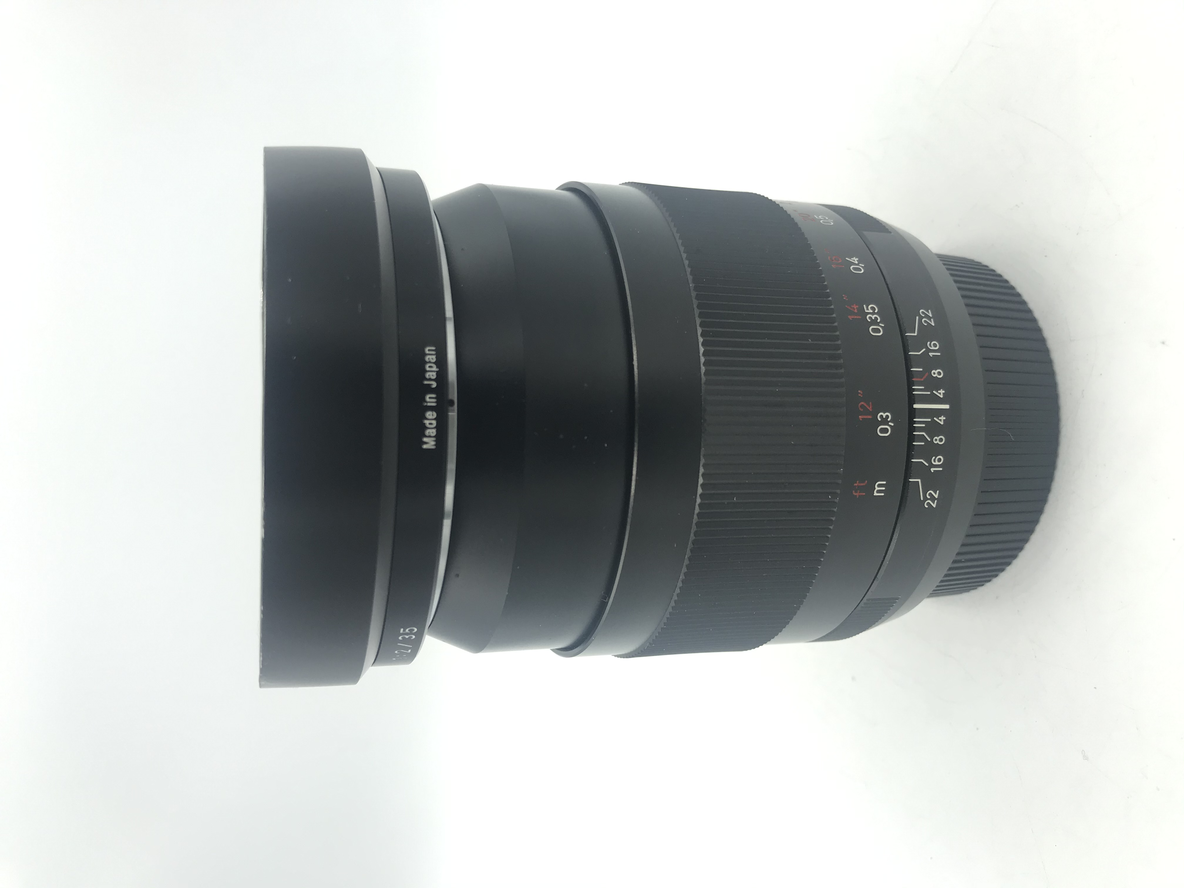 USED Zeiss 35mm F2 Distagon T* ZE Lens (Canon Mount)