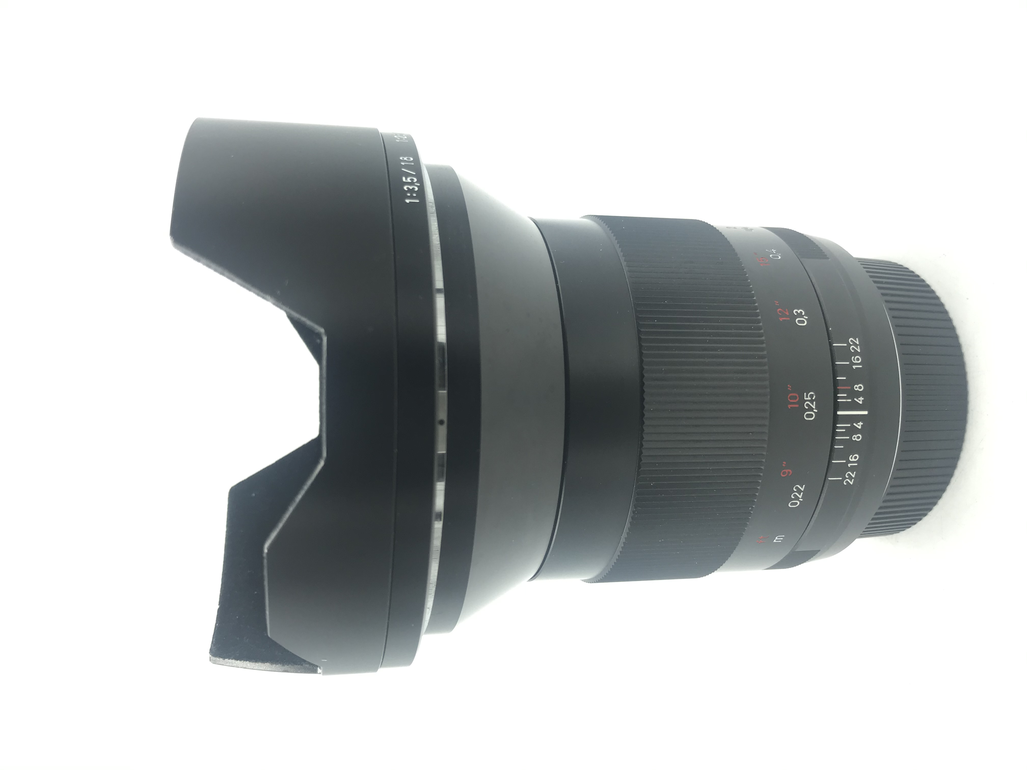 USED Zeiss 21mm F2.8 Distagon T* ZE Lens (Canon Mount)
