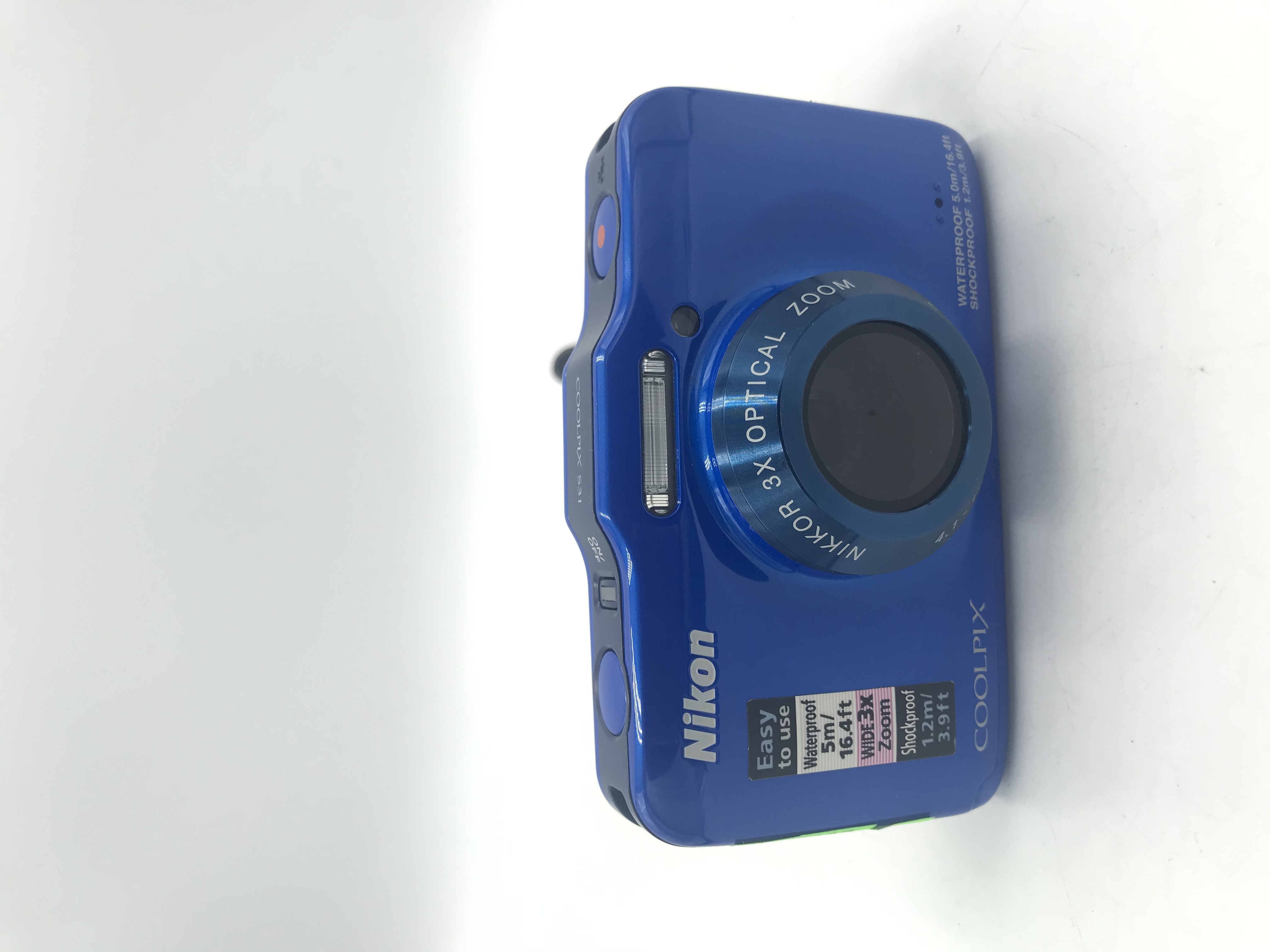 USED Coolpix S31 Underwater Point and Shoot