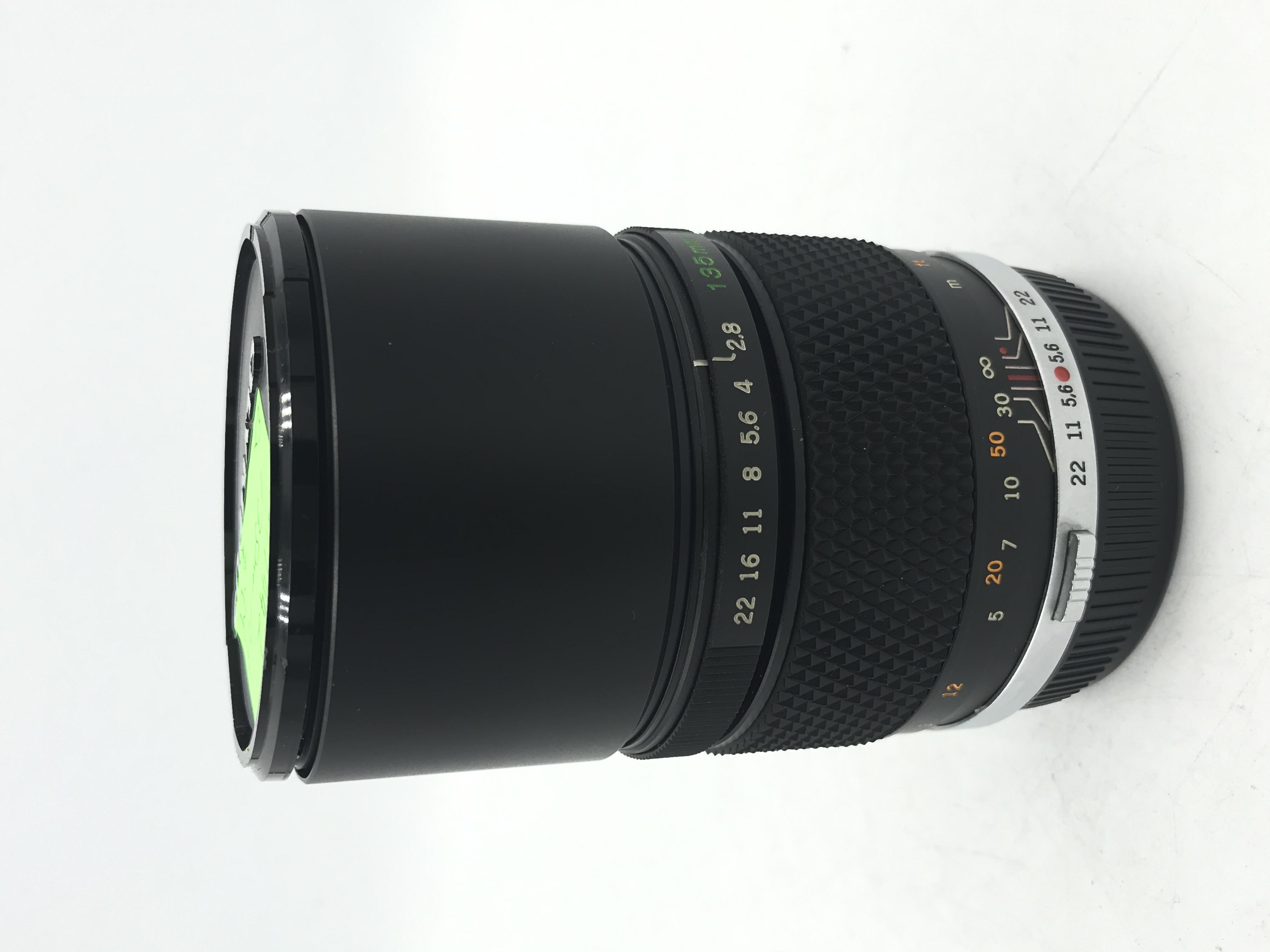 USED Olympus 135mm F2.8 MC Auto MF Film Lens