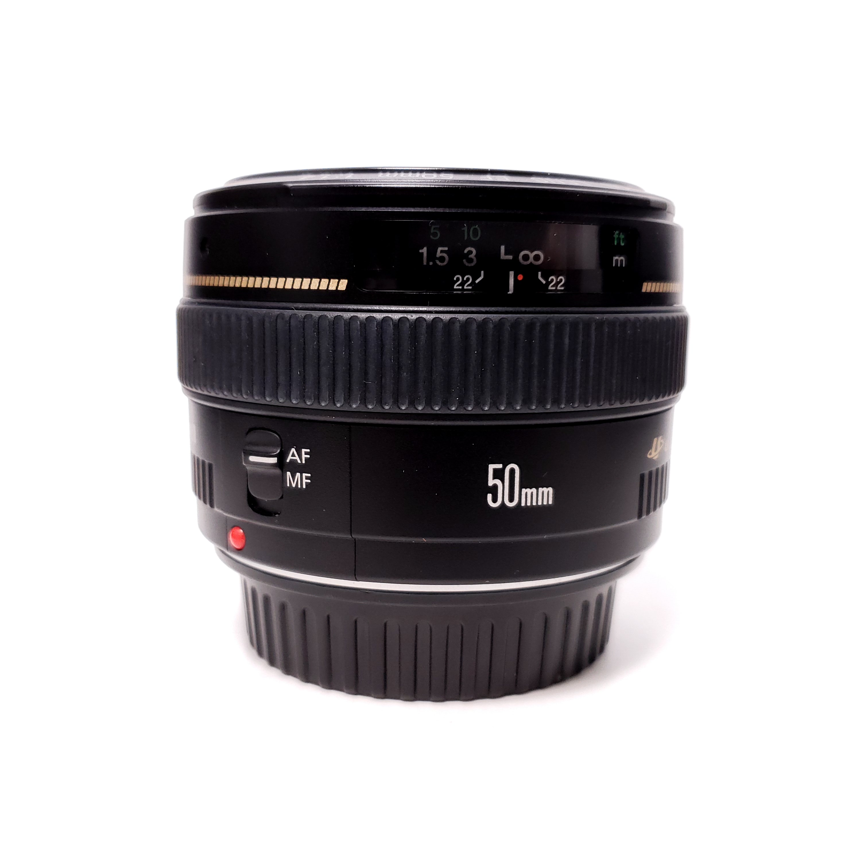 USED Canon 50mm F1.4 EF USM Lens