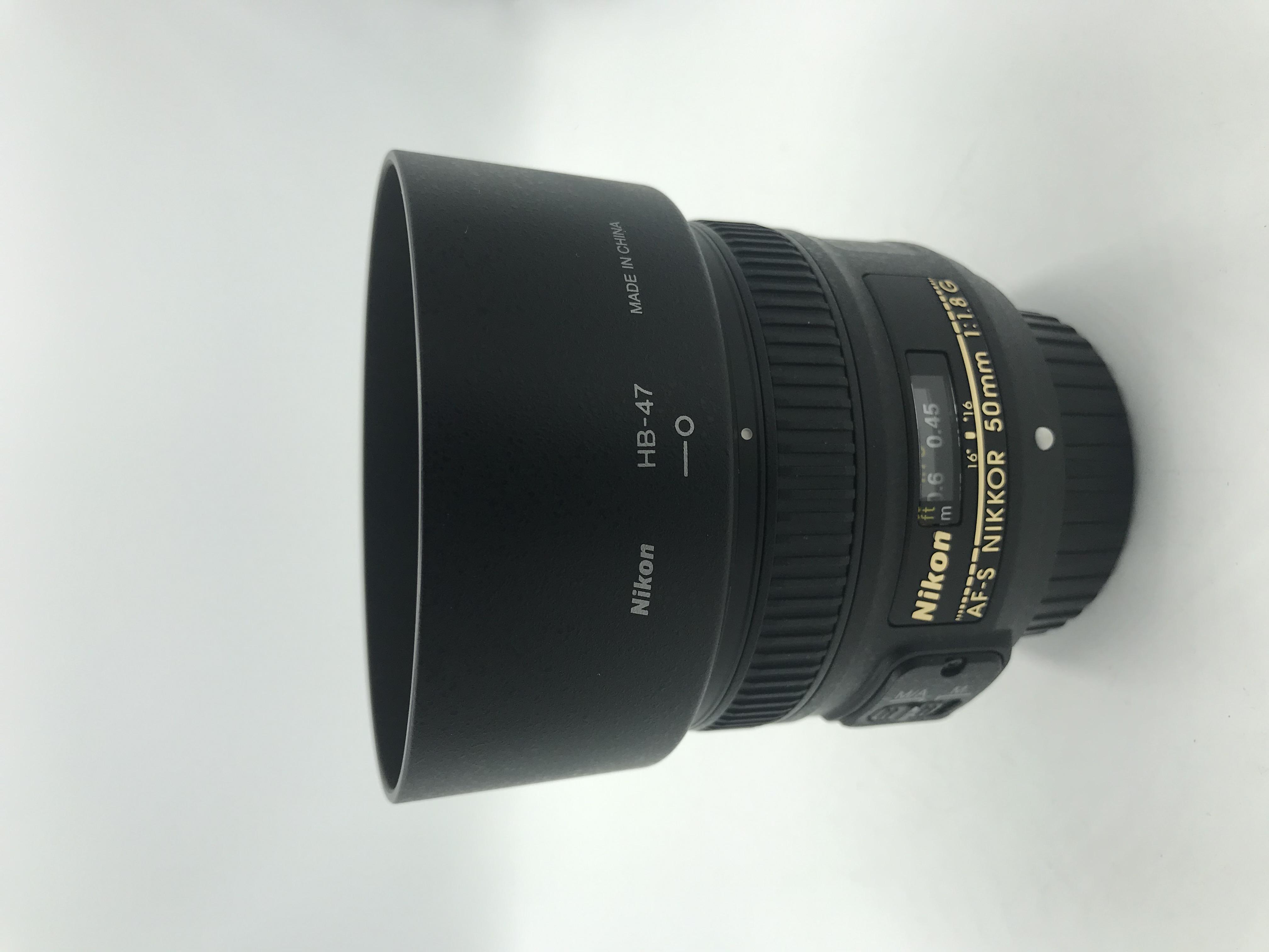 USED Nikon 50mm F1.8 G AF-S Lens