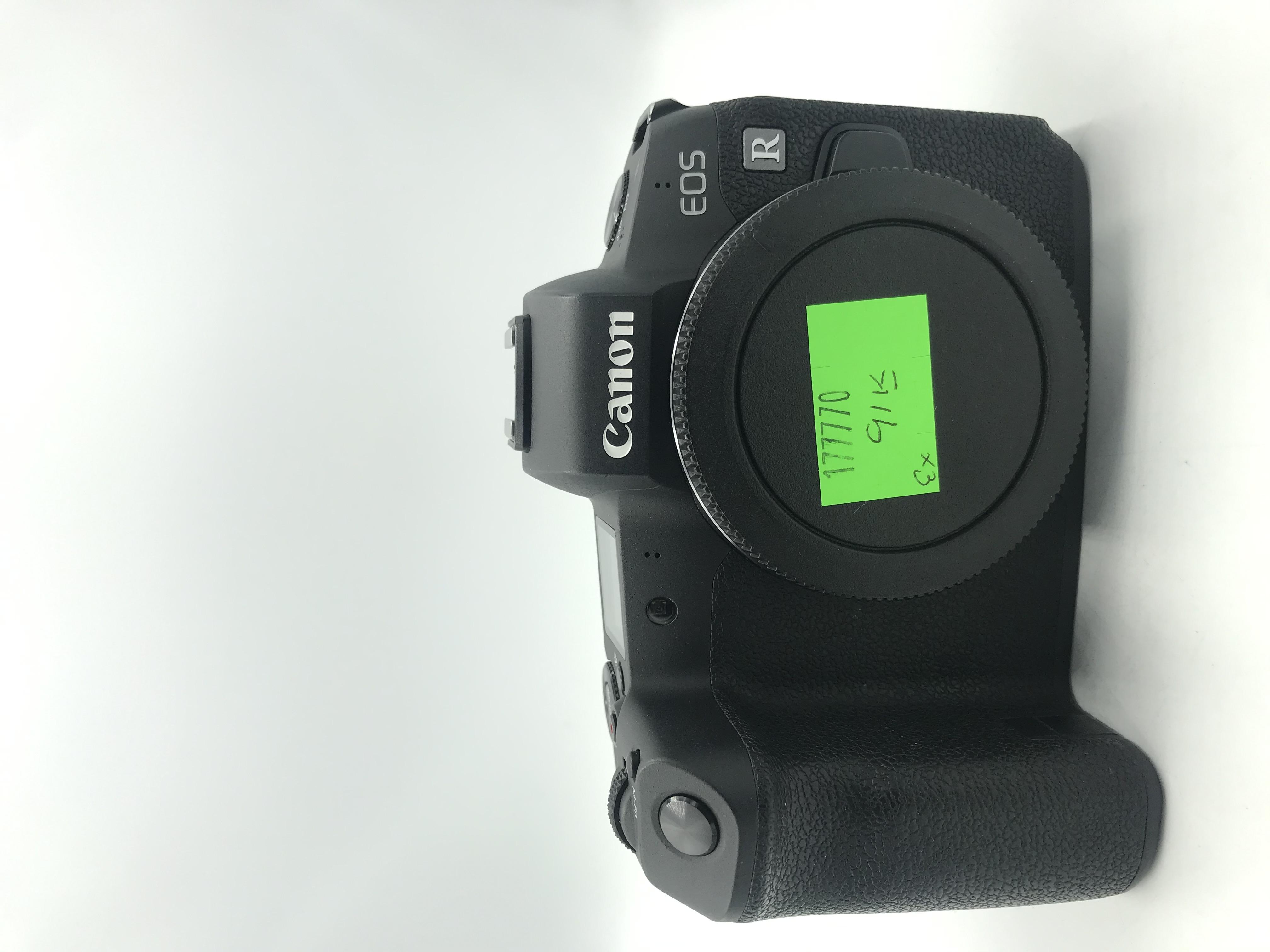 USED Canon EOS R Mirrorless Full-Frame Digital Camera Body