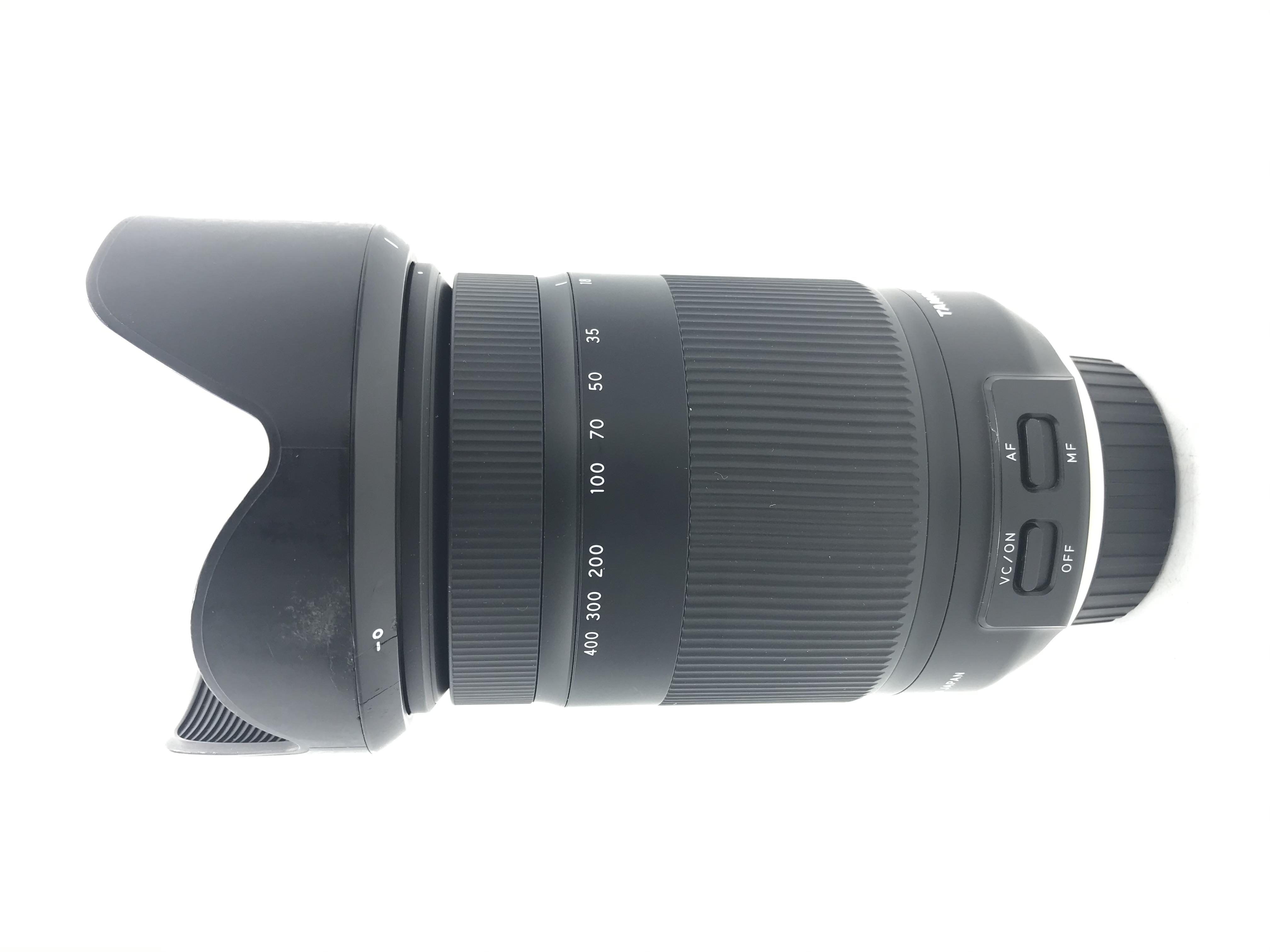 USED Tamron 18-400mm F3.5-6.3 Di II VC Lens for Nikon