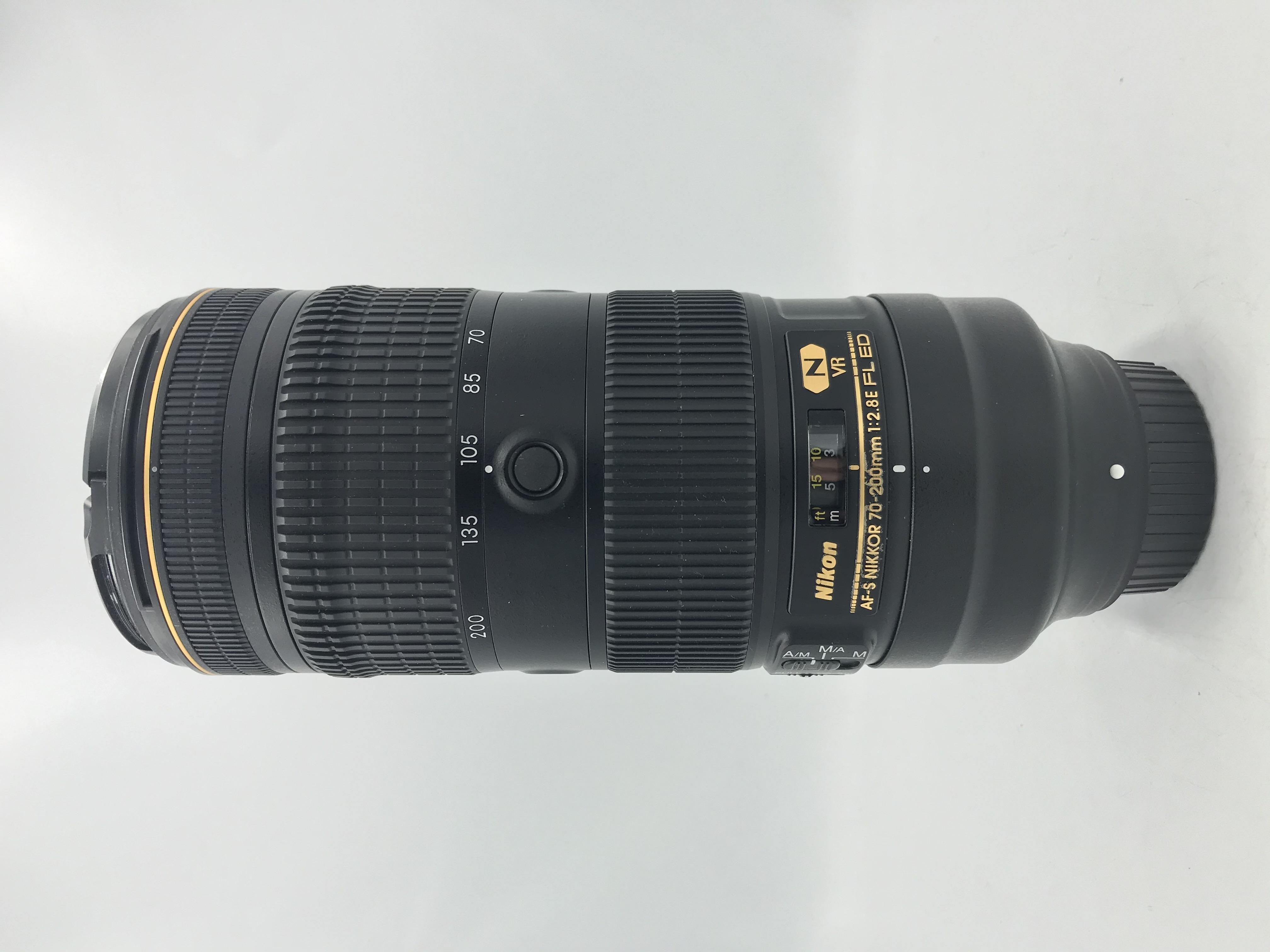 USED Nikon 70-200mm F2.8 E FL ED VR AF-S Lens
