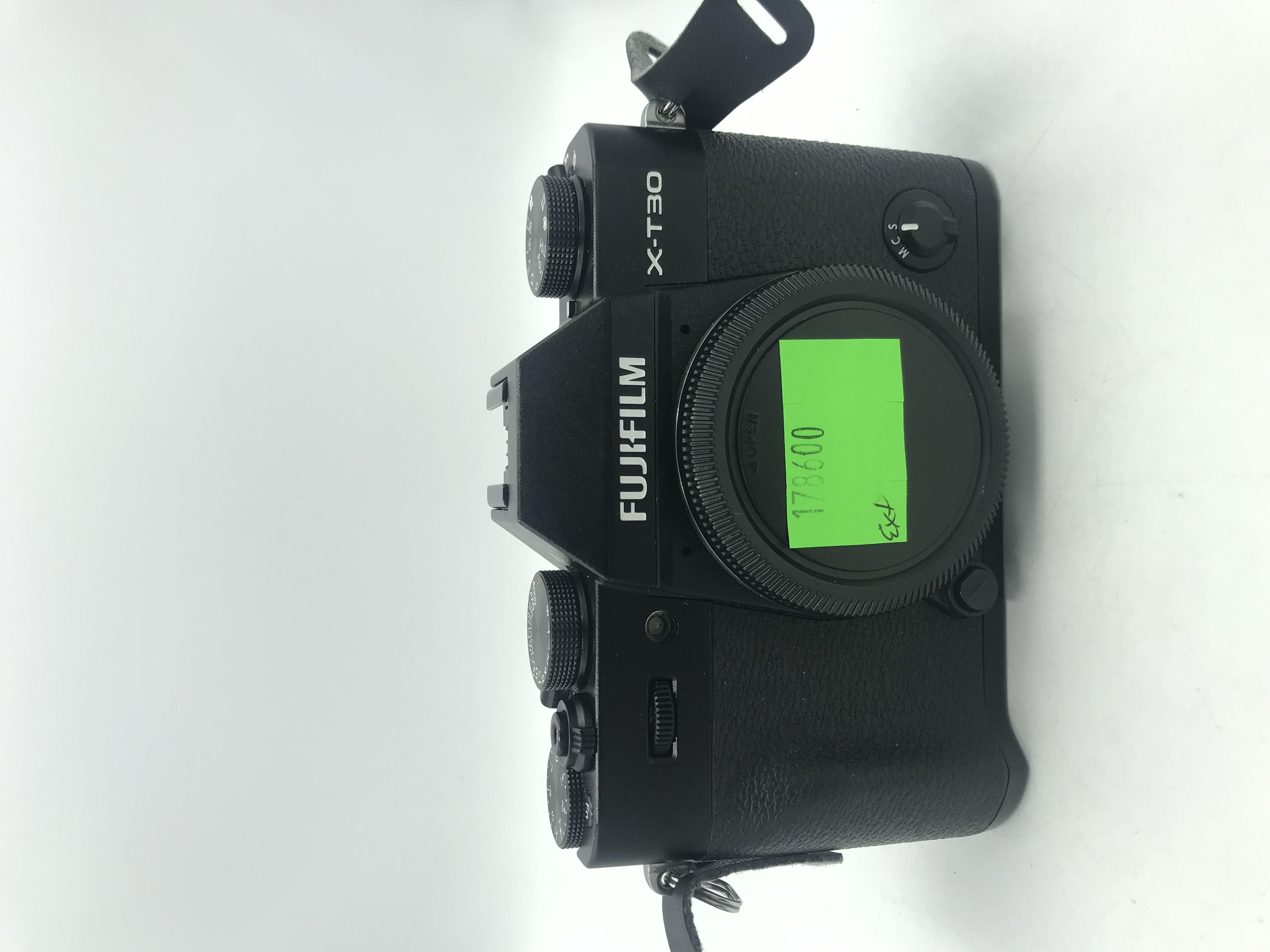 USED Fujifilm X-T30 Mirrorless Body (BLK)