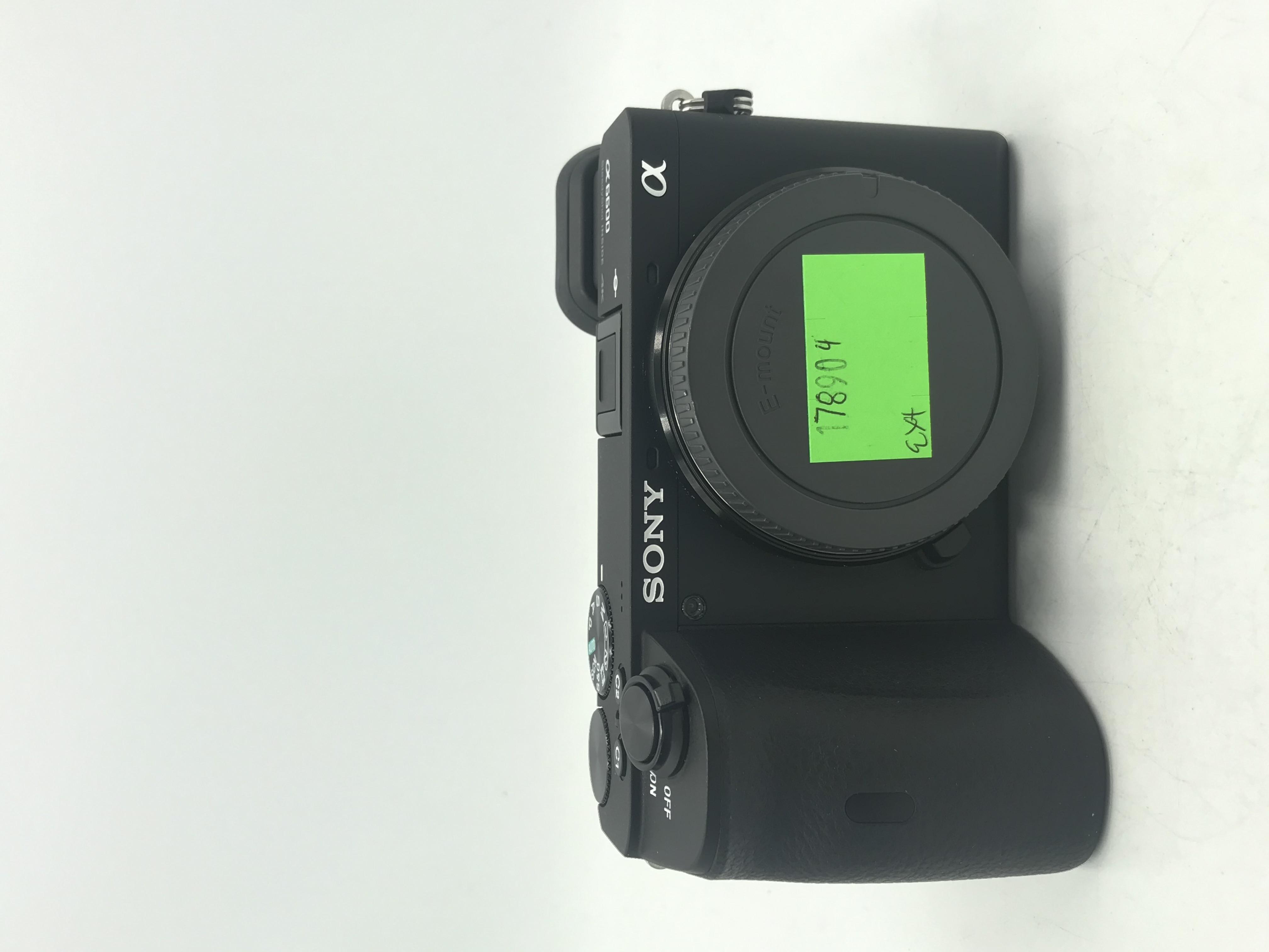 Used Sony Alpha a6600 Mirrorless Digital   Camera (Body Only)