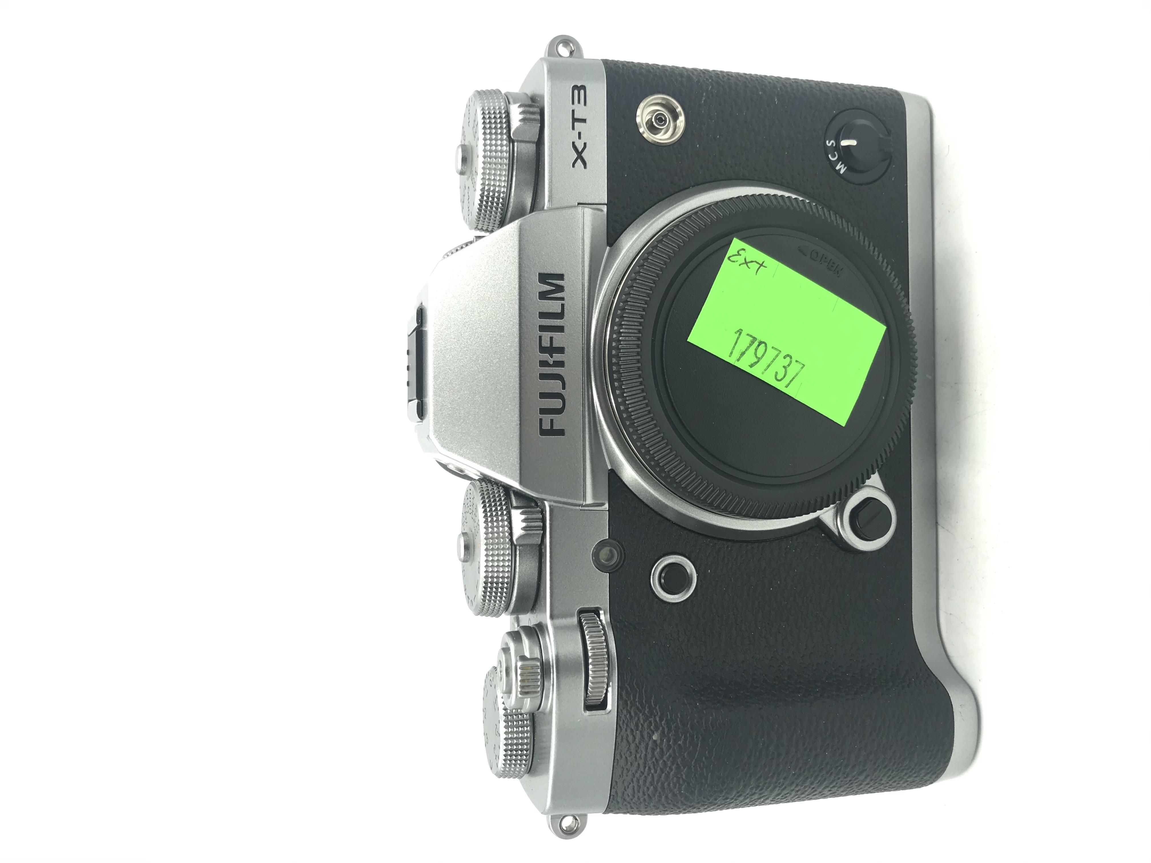USED Fujifilm X-T3 Mirrorless Camera Body  (Silver)