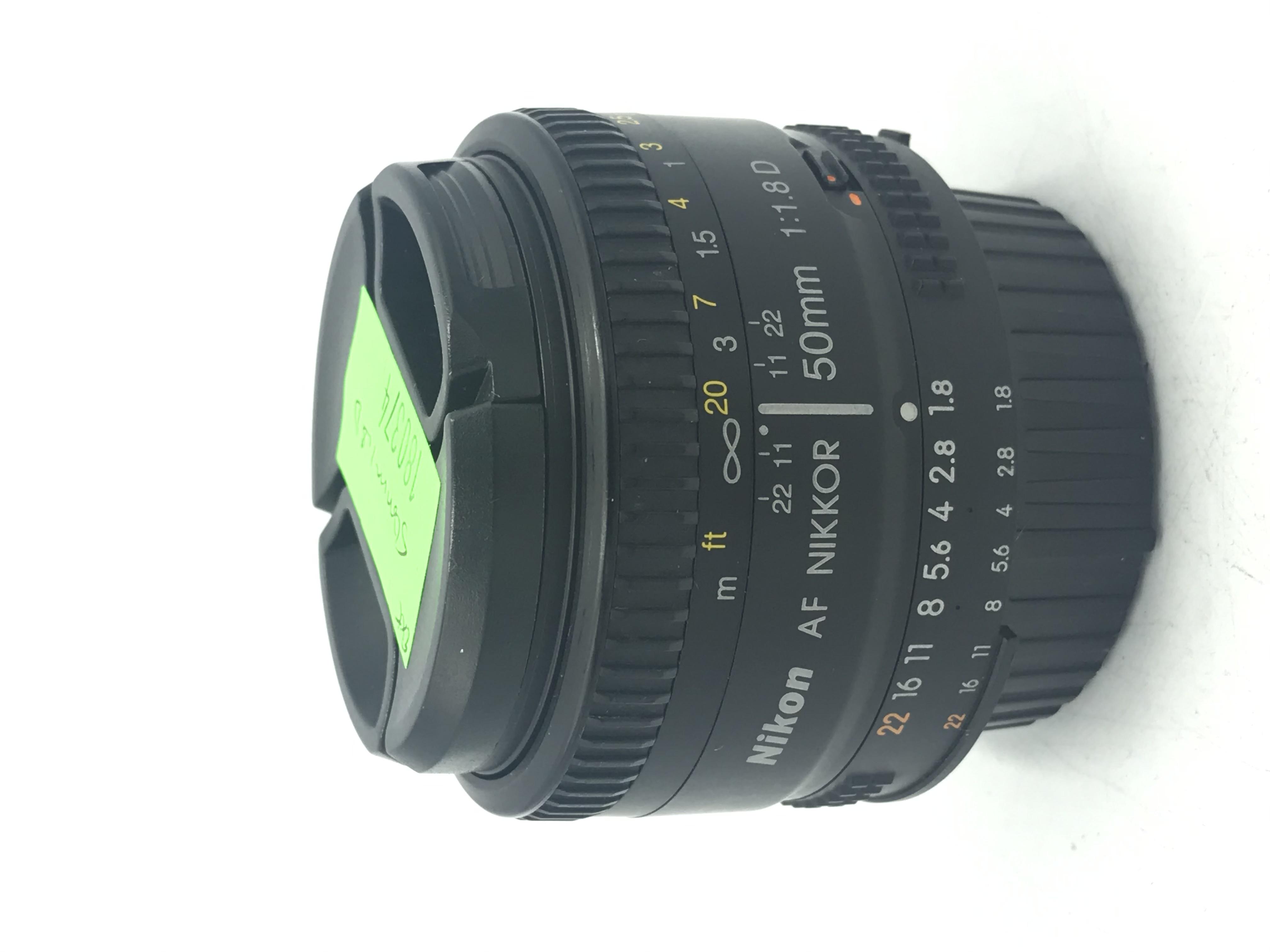 USED Nikon 50mm F1.8 D AF Lens
