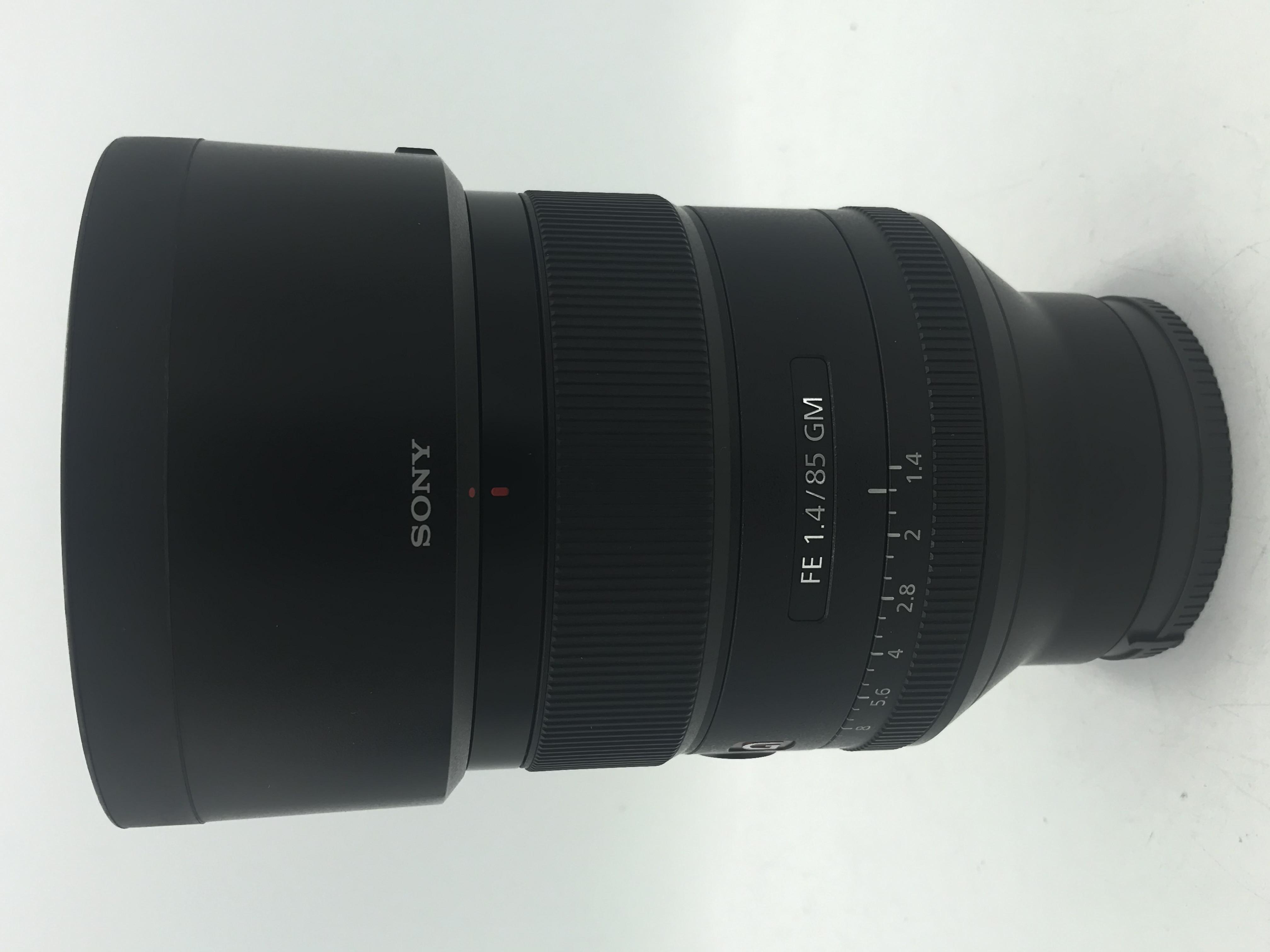 USED Sony 85mm F1.4 FE GM Lens