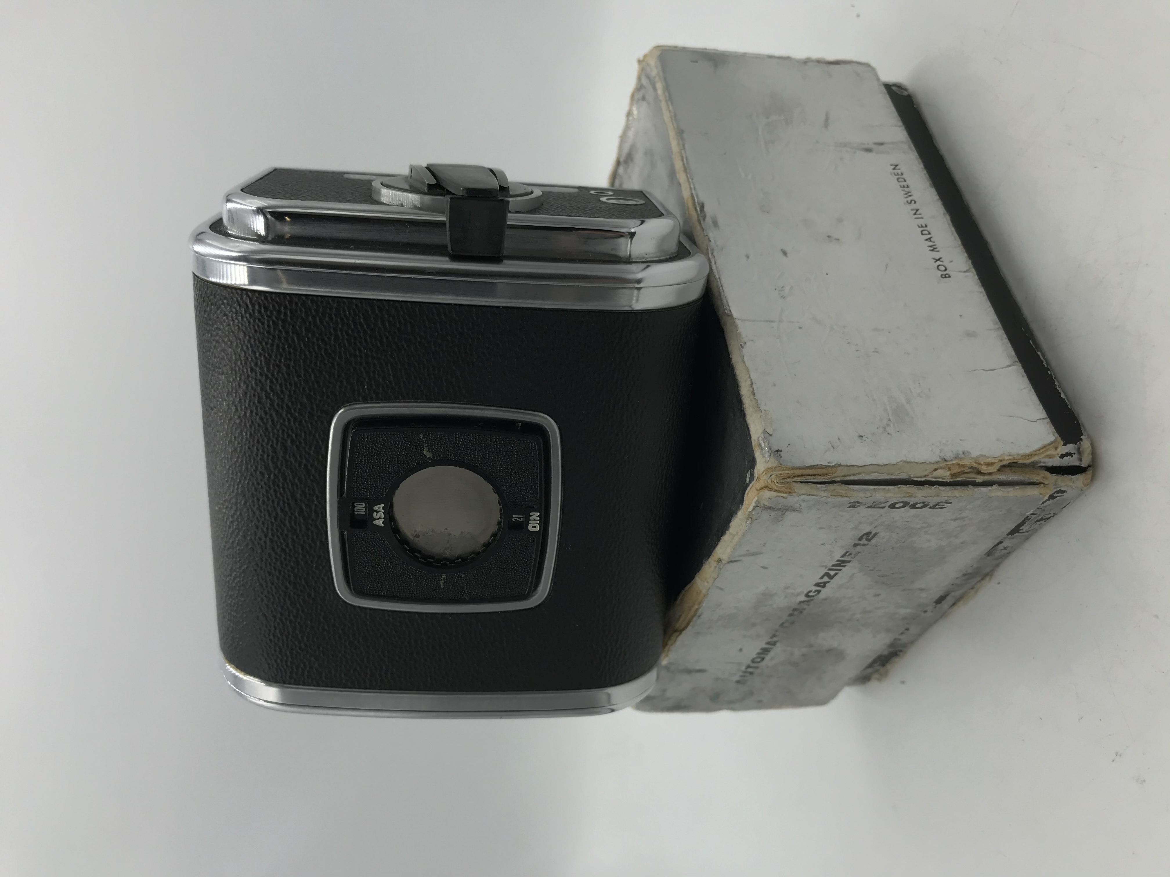 USED Hasselblad A12 120 Film Back (Chrome) - Matching Serial Numbers