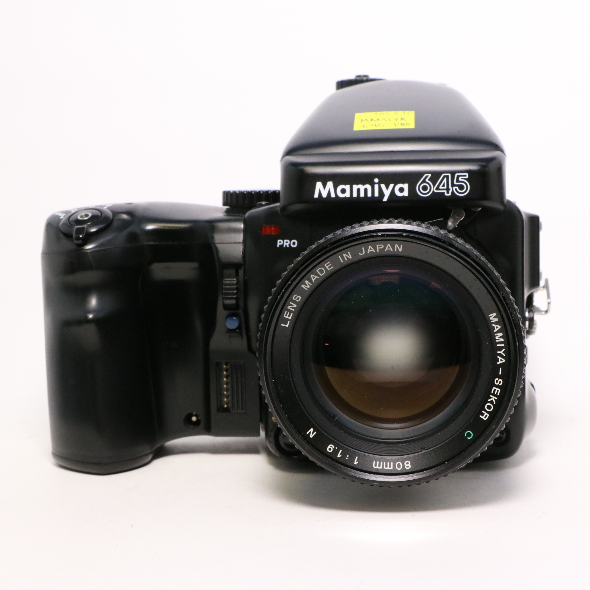 USED Mamiya 645 Pro Medium Format Film Camera w/ 80mm f/1.9 Lens