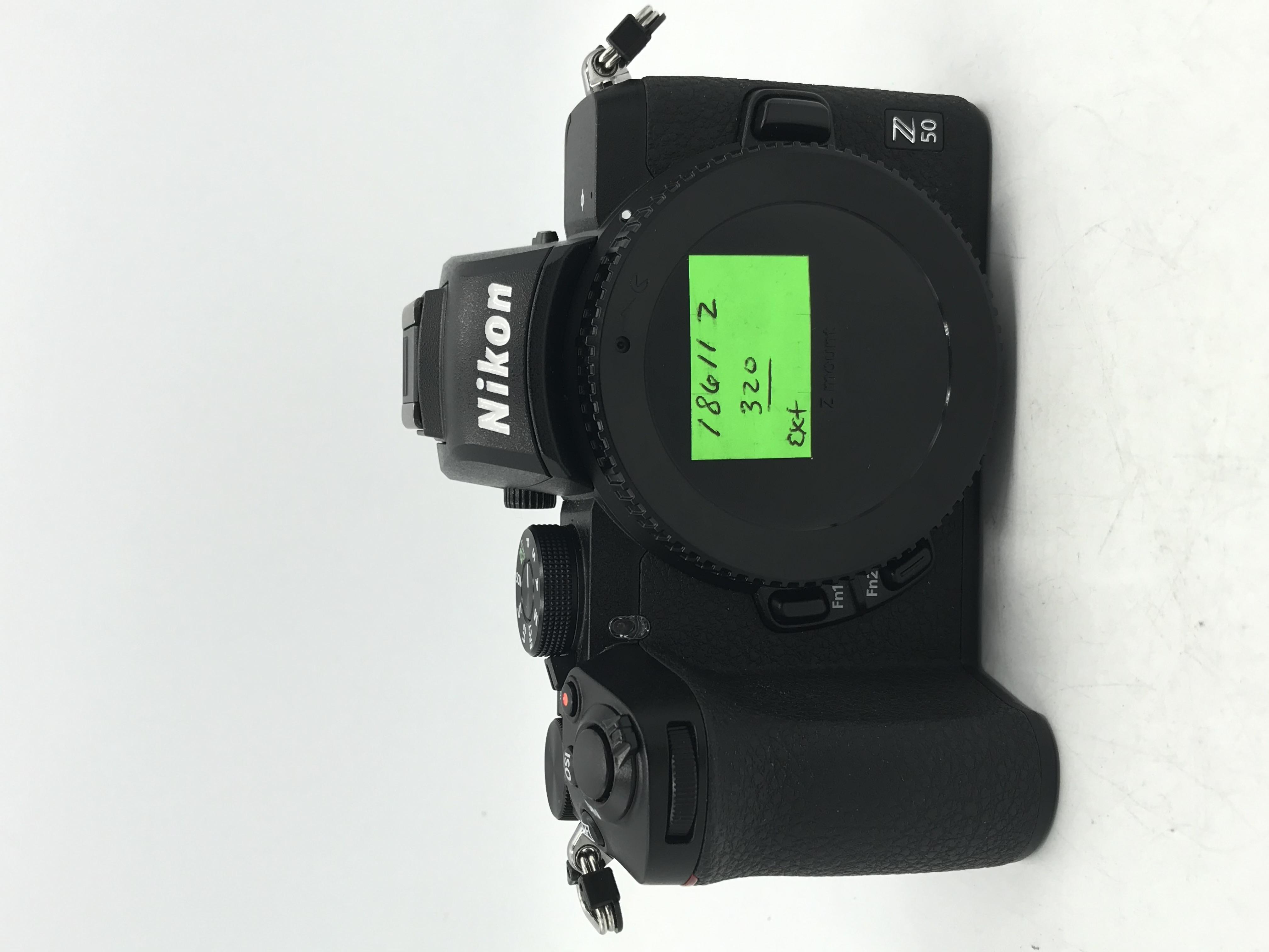 Used Nikon Z50 DX-format Mirrorless Camera  Body
