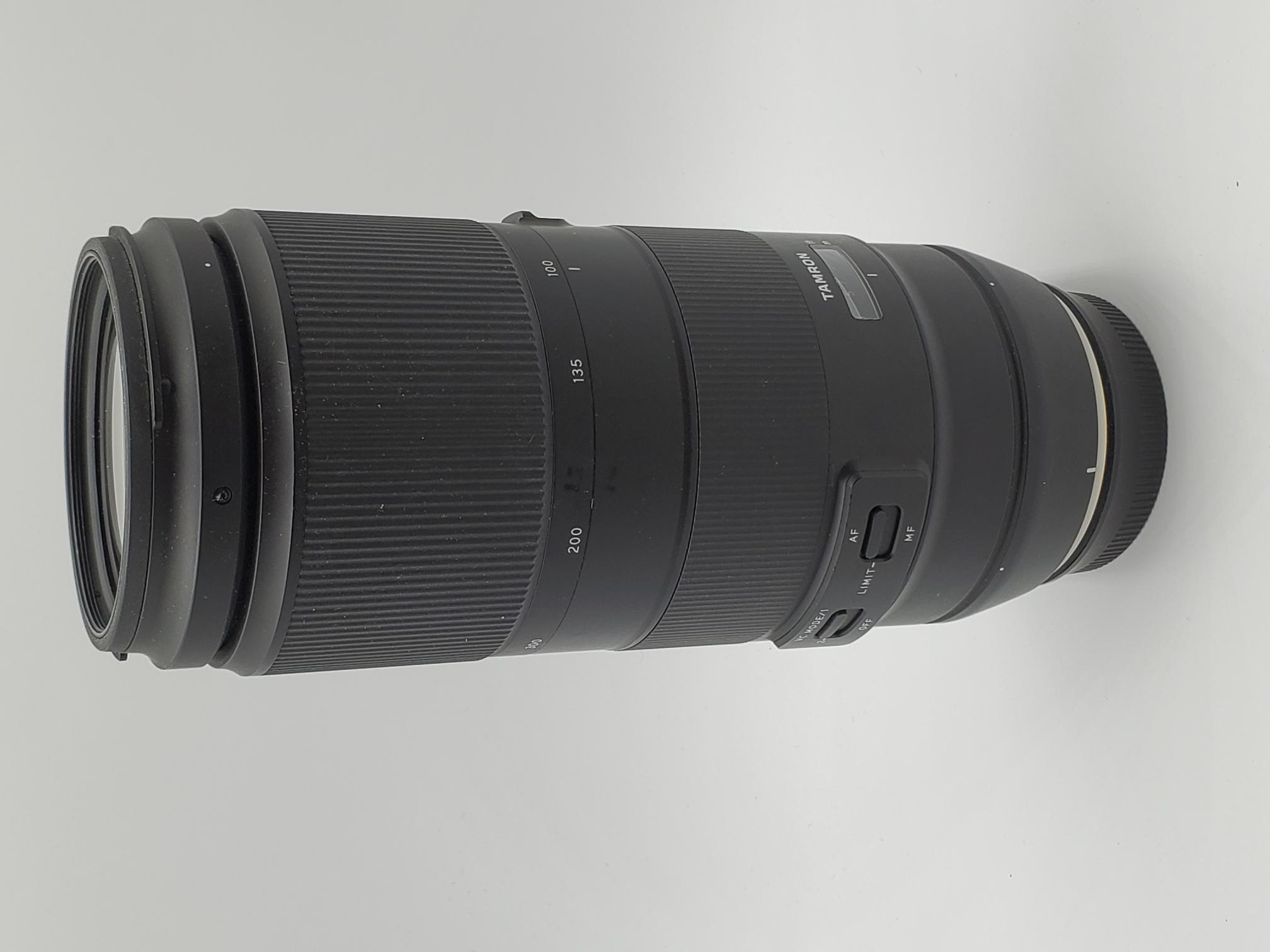 USED Tamron 100-400mm F4.5-6.3 Di VC USD Lens for Canon