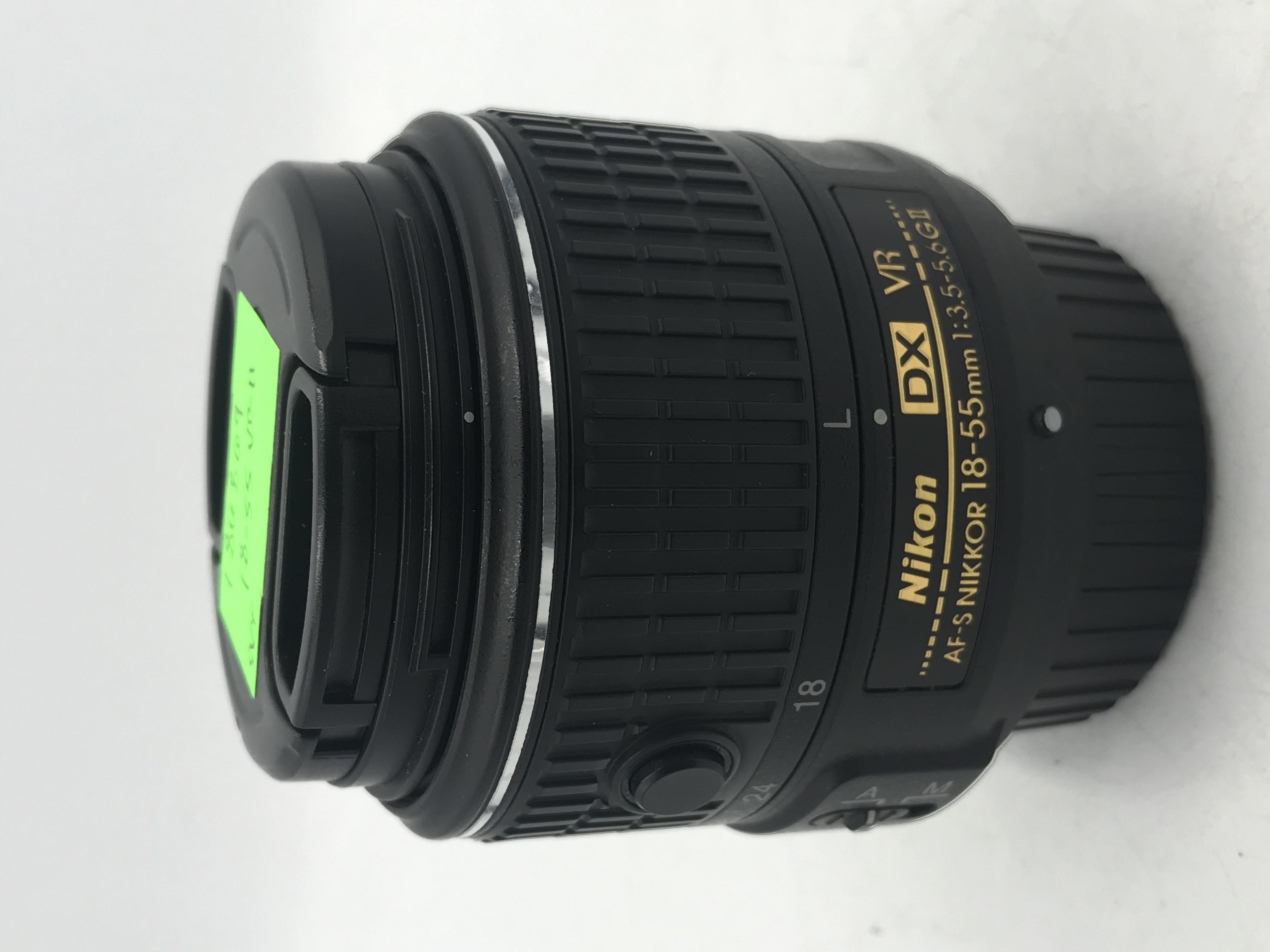 USED Nikon 18-55mm f/3.5-5.6G VR II AF-S DX  Lens