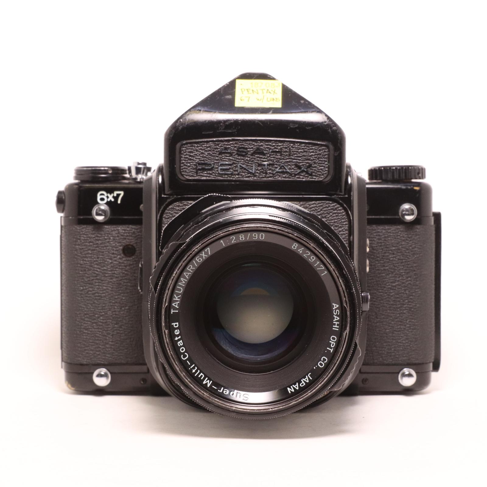 USED PENTAX 67 Medium Format Camera w/ 90mm f/2.8 Lens