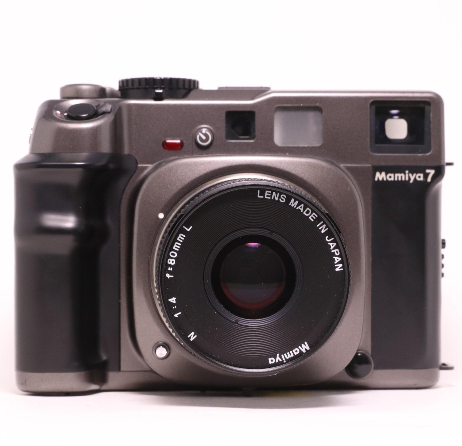 USED Mamiya 7 Medium Format Film Camera w/ N 80mm f4 L Lens