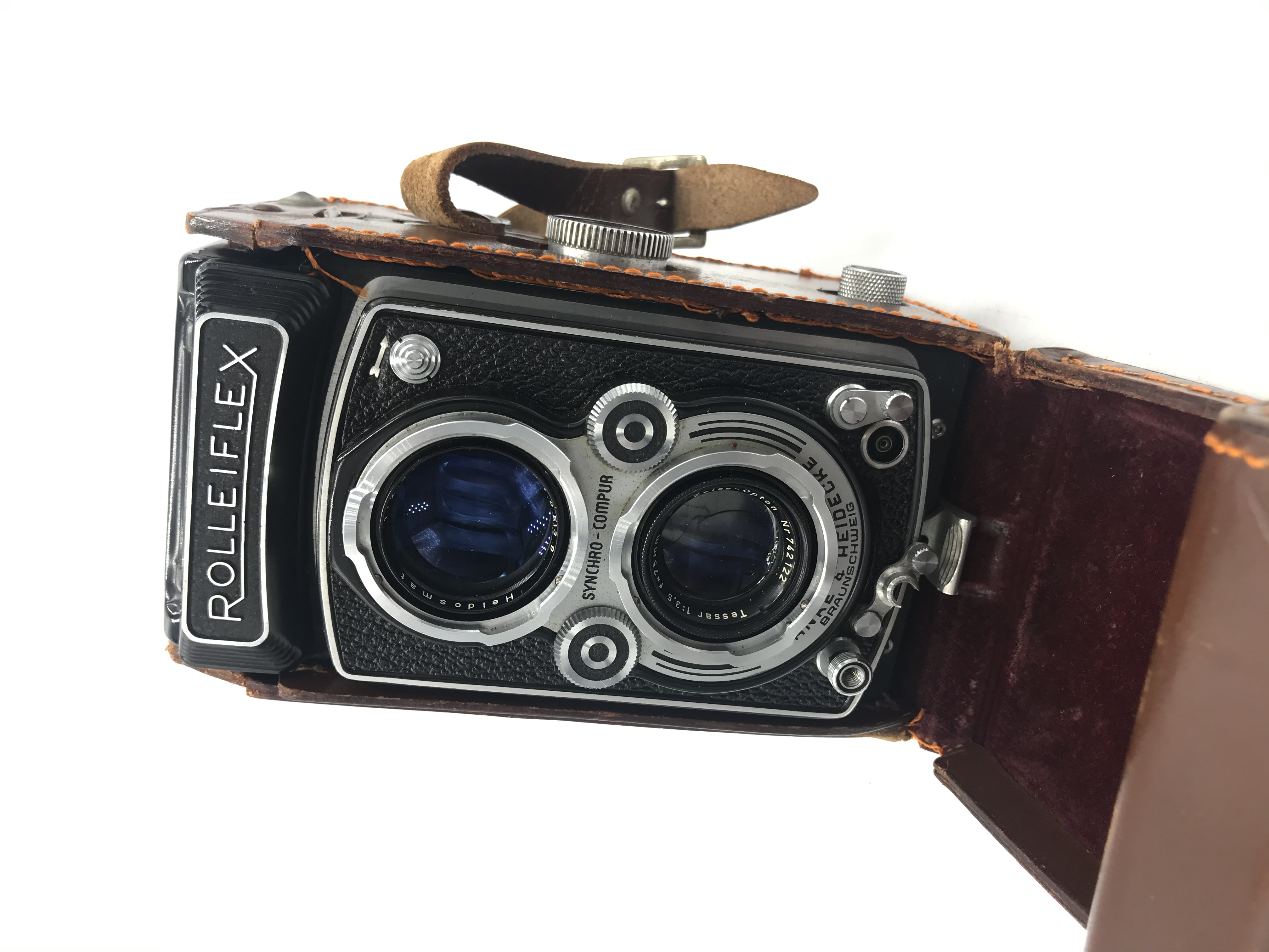 USED Rollieflex TLR 75mm 3.5 Camera