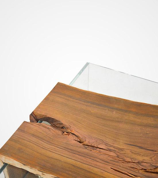 Cocobolo Glass Box