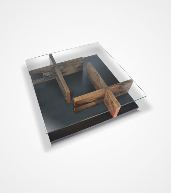 Maze Table – Salvaged Mango Wood