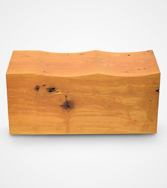Solid Pequia Wood Pedra Bench