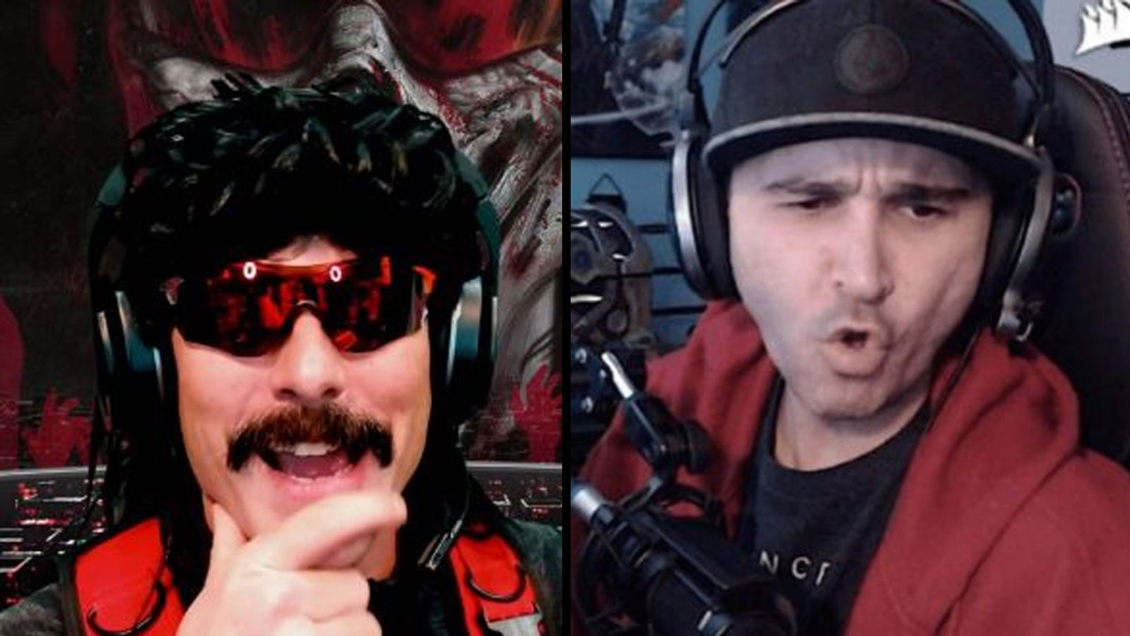 Twitch: Dr Disrespect, summit1g