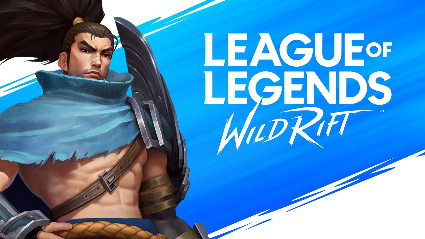 Yasuo in League of Legends Wild Rift