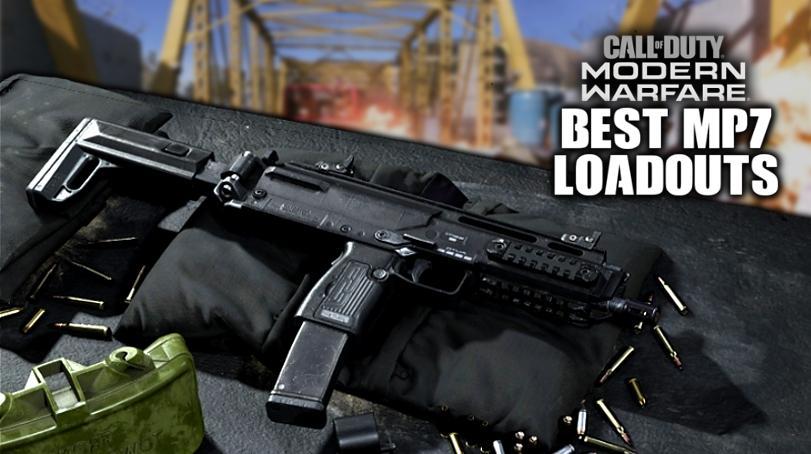 5 Best Mp7 Smg Modern Warfare Class Loadouts Attachments Setup Perk Dexerto