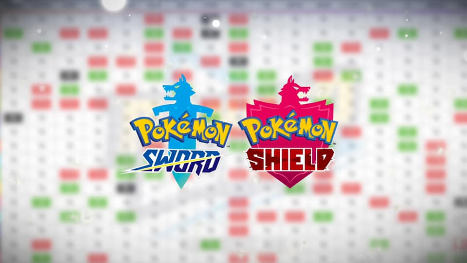 Pokemon Sword and Shield type chart - strengths and weaknesses - Dexerto