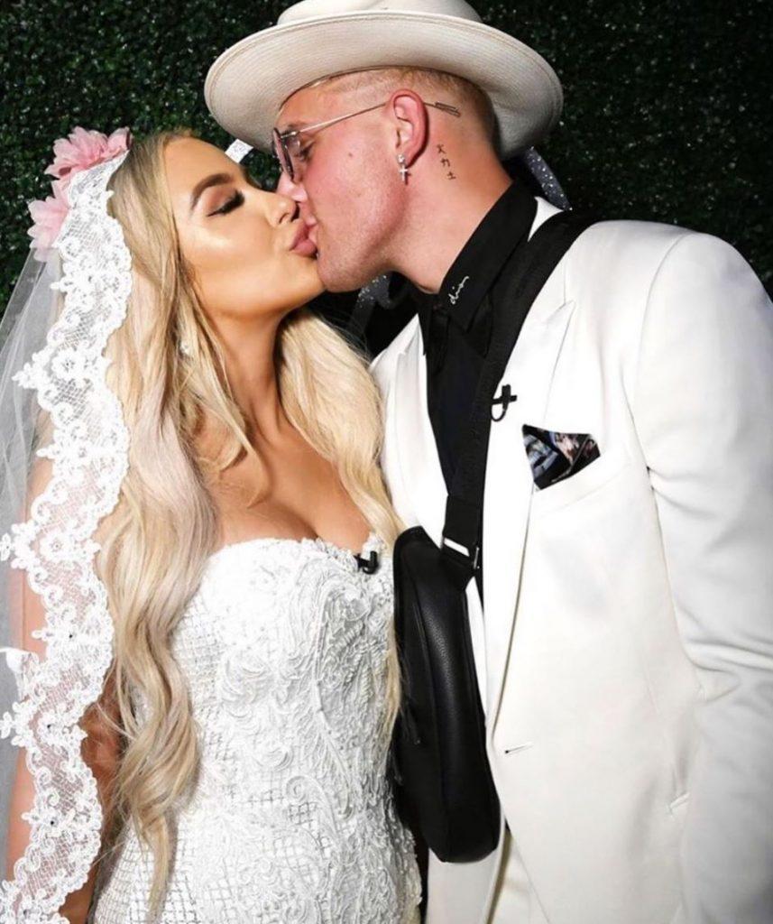 Erika Costell Throws Subtle Shade Toward Jake Paul Tana S Wedding Dexerto