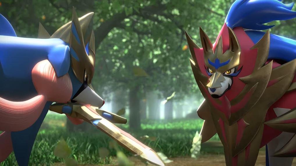 Pokemon Sword Shield Zacian Zamazenta Shiny