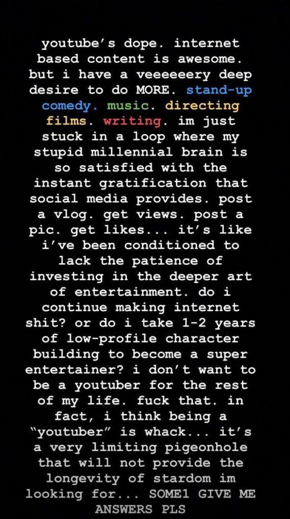 Logan Paul, Instagram