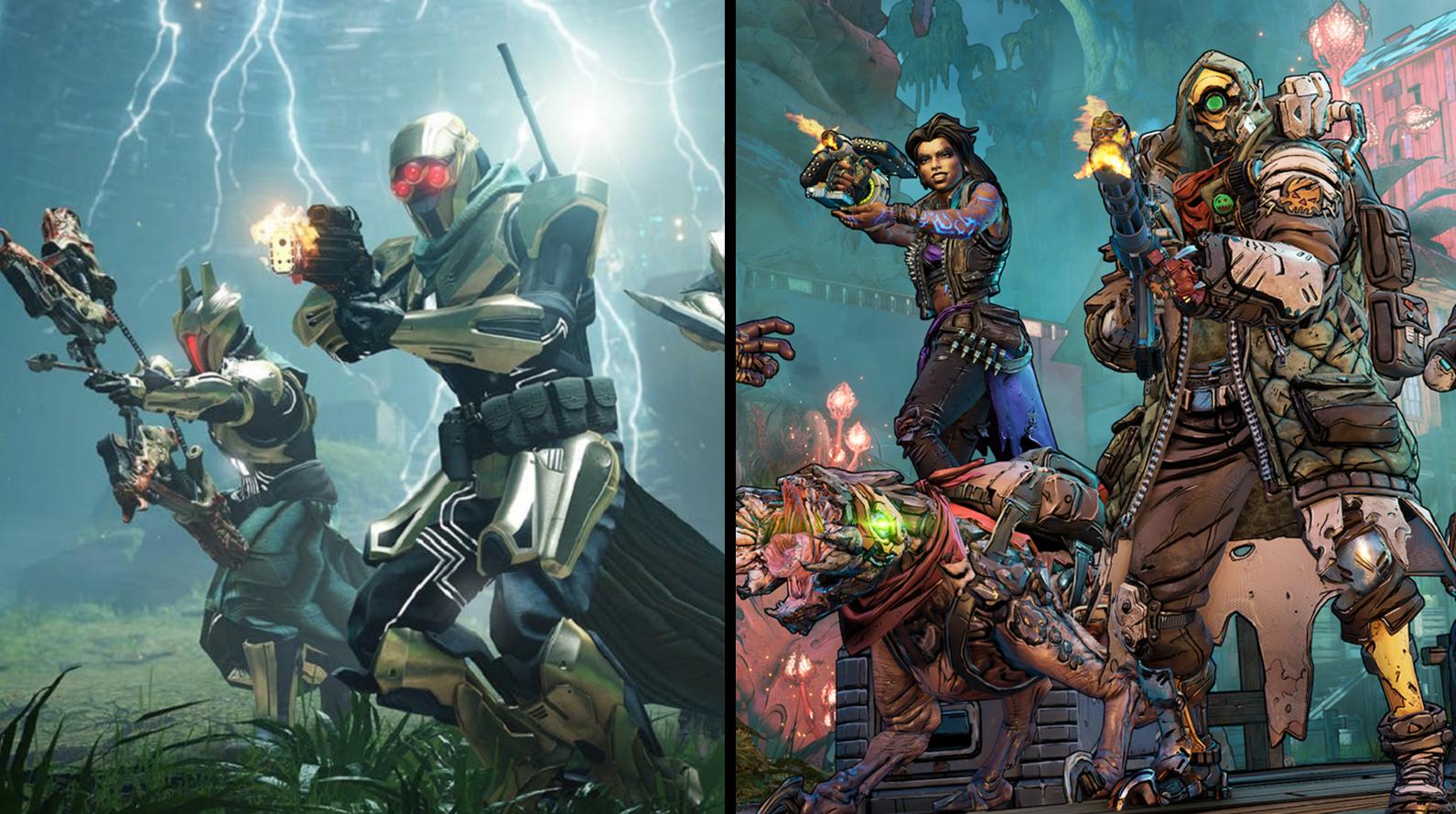 Bungie - Destiny 2 / Gearbox - Borderlands 3