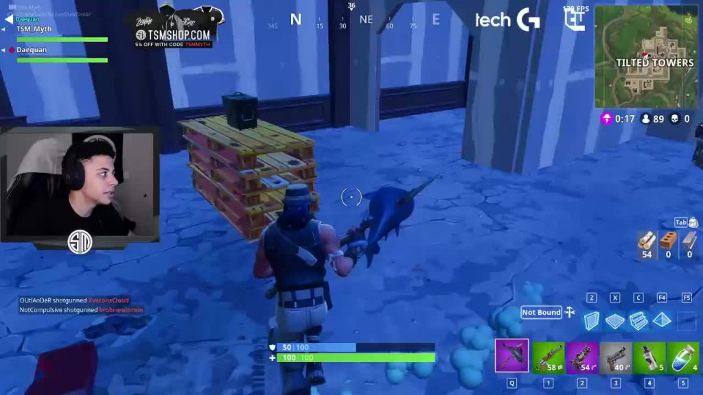 Myth Videos Fortnite Tsm S Myth Reveals The One Fortnite Feature He Wants For Thanksgiving Dexerto