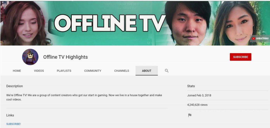 Offline TV Highlights, YouTube
