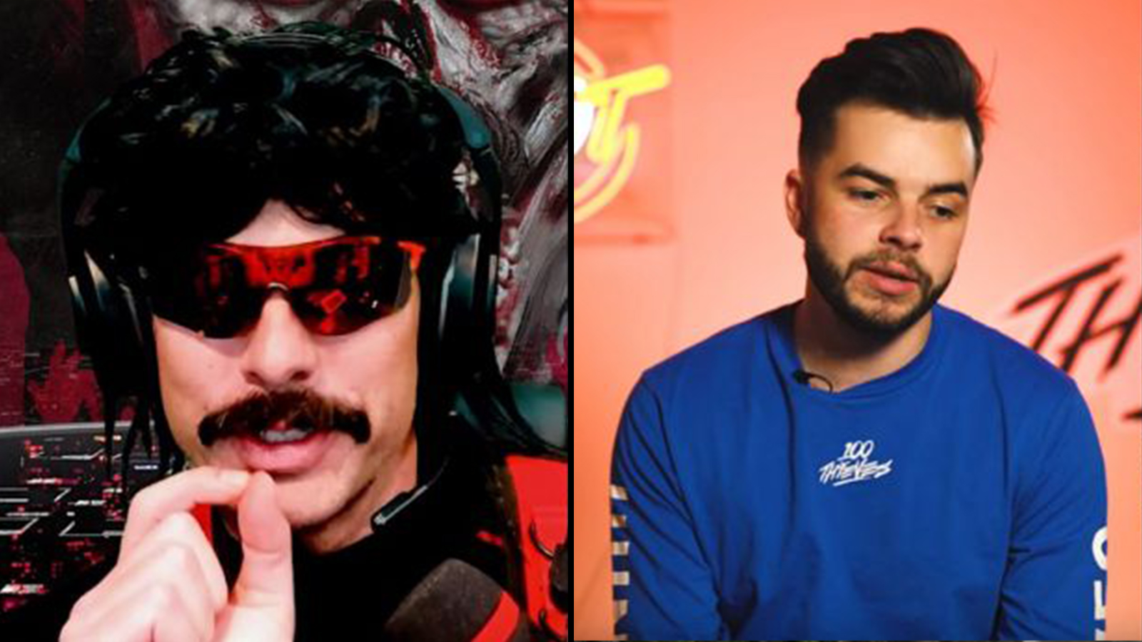 Twitch: Dr Disrespect / Nadeshot