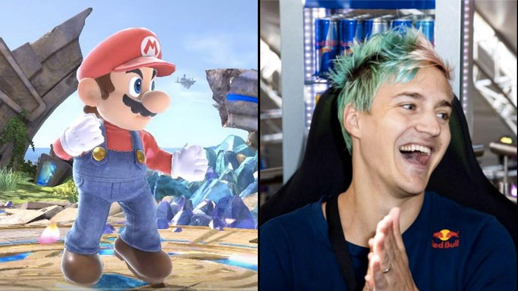 Nintendo/Red Bull: Ryan Hadji