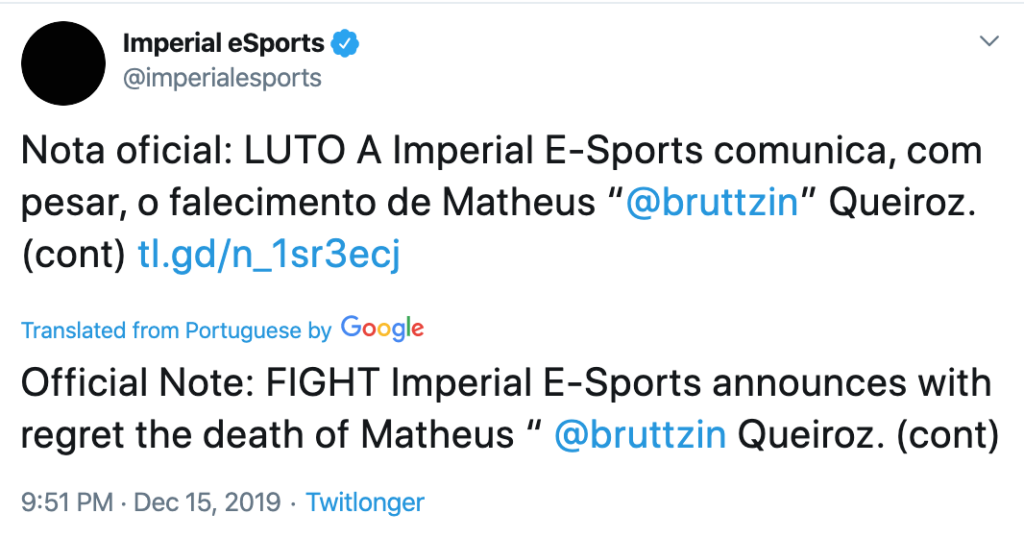 Imperialesports (Twitter)