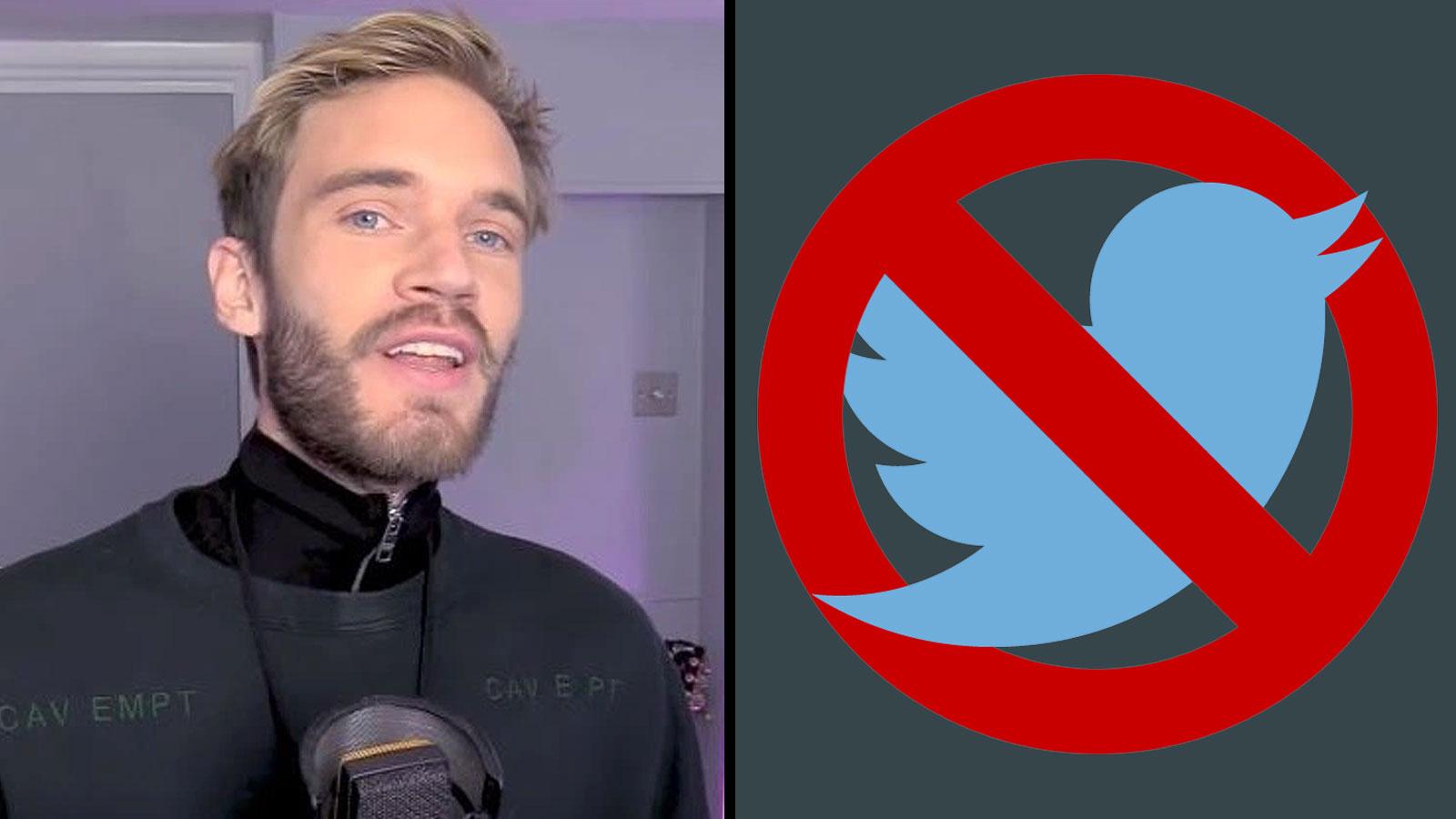 YouTube: PewDiePie / Twitter