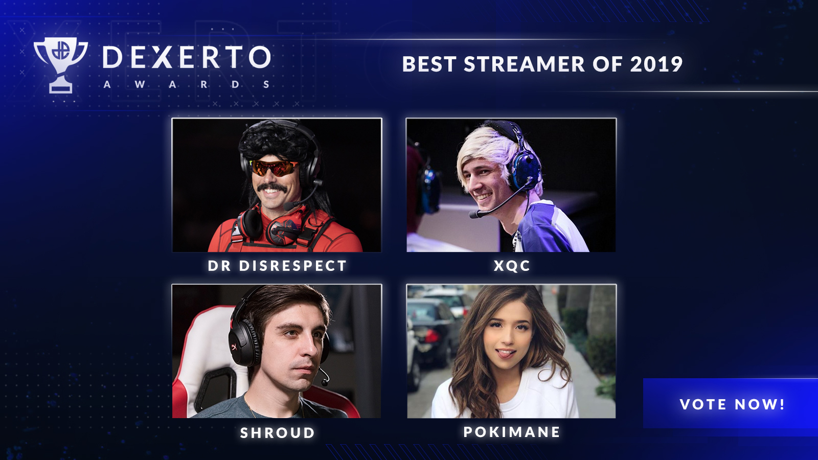 The best streamers of 2019 on Twitch and Mixer