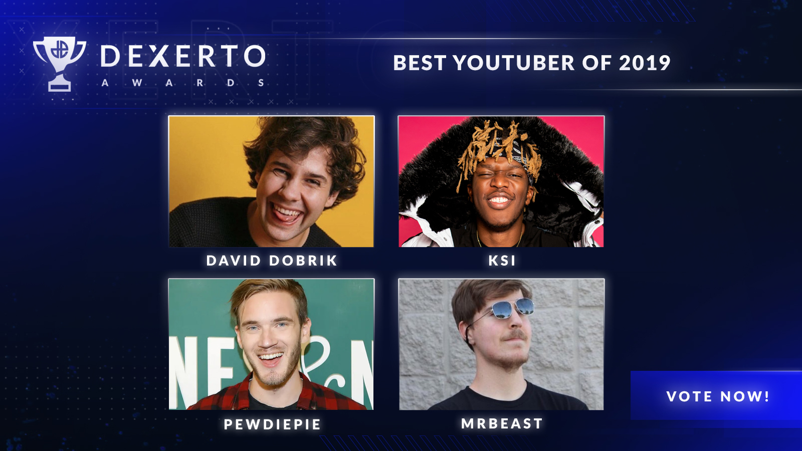 The four best YouTubers of 2019