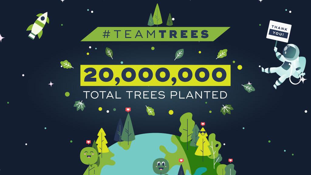Twitter: Team Trees