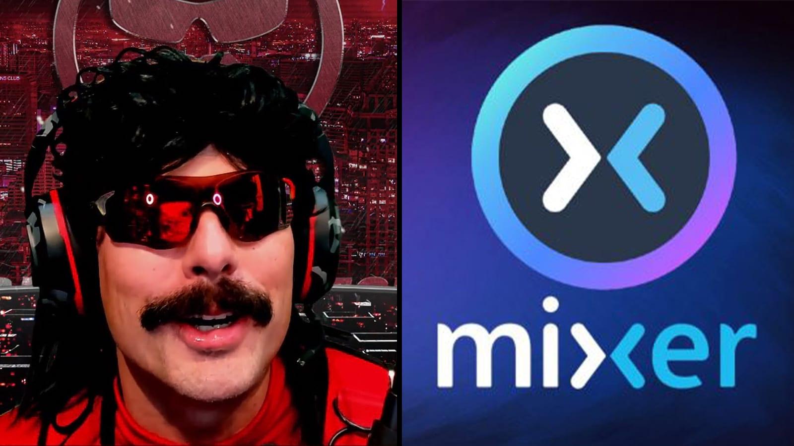 L: Dr Disrespect R: Mixer